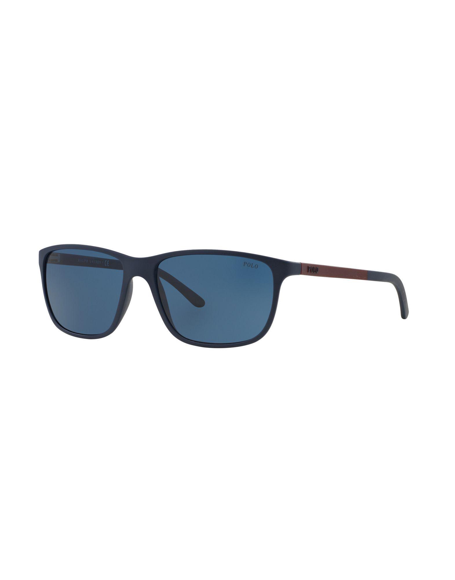 0656cc8c3f Polo Ralph Lauren Sunglasses in Blue for Men - Lyst