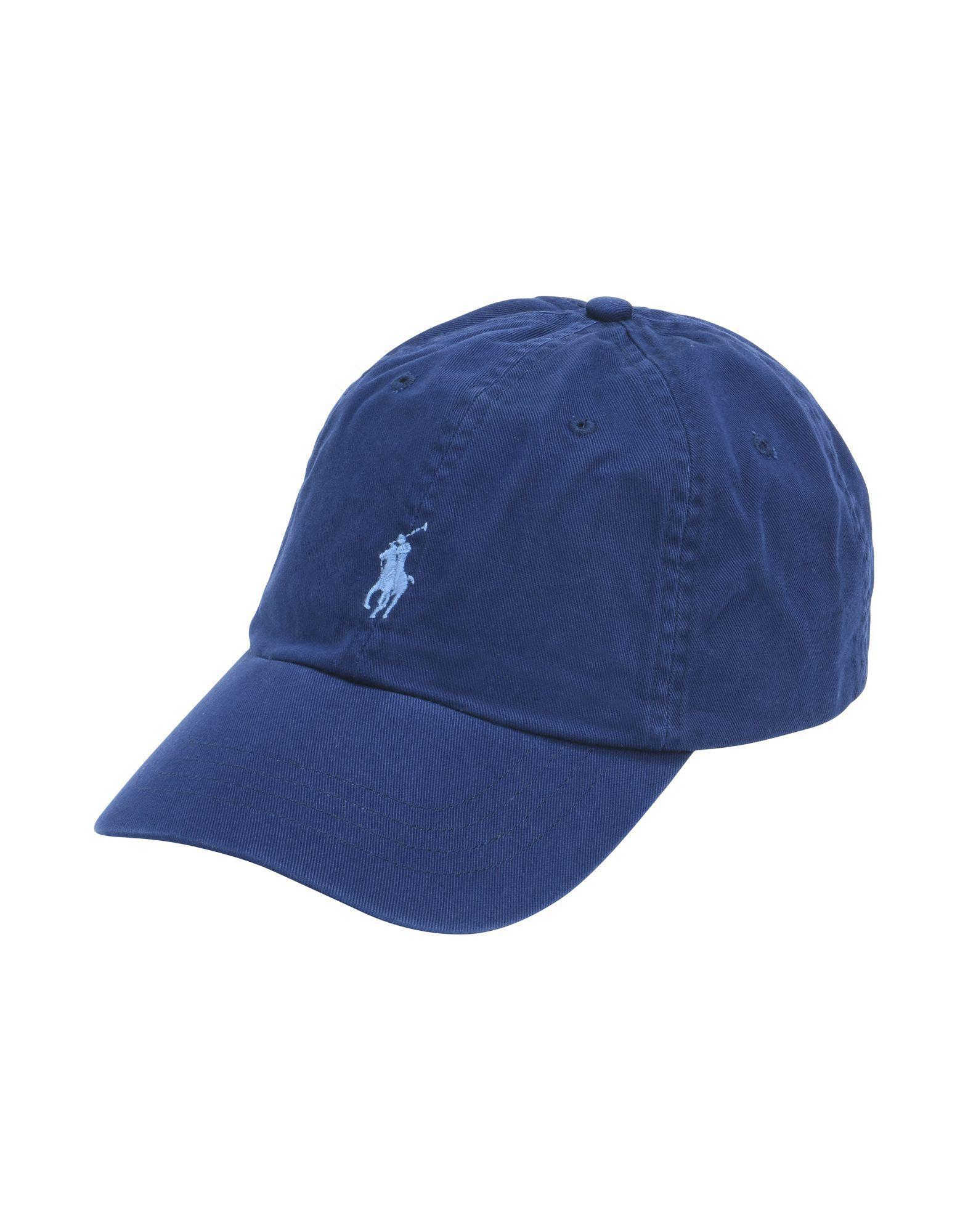 Polo Ralph Lauren Hat in Blue for Men - Lyst bd95fdf3e9fe