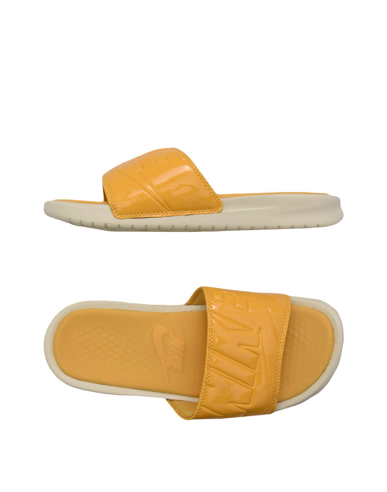 520ab5e27503 Nike Sandals in Yellow - Lyst