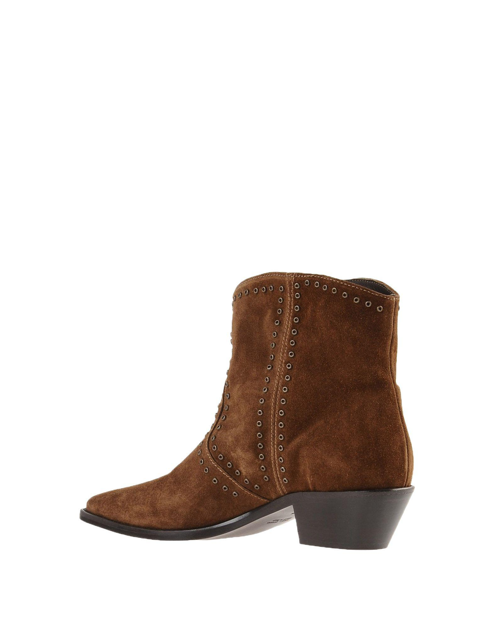 0d60bf72e85a Lemarè Ankle Boots in Brown - Lyst