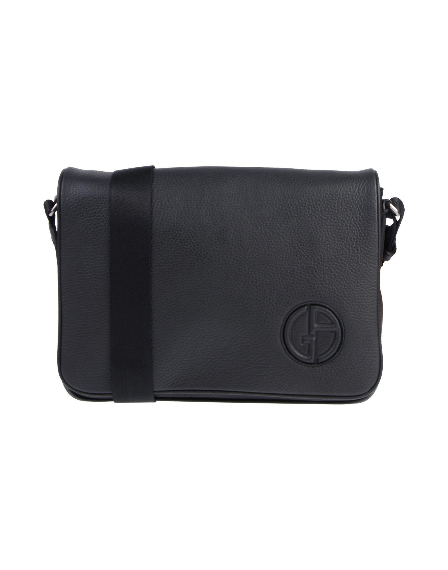 22e02135905 Giorgio Armani Cross-body Bag in Black for Men - Lyst
