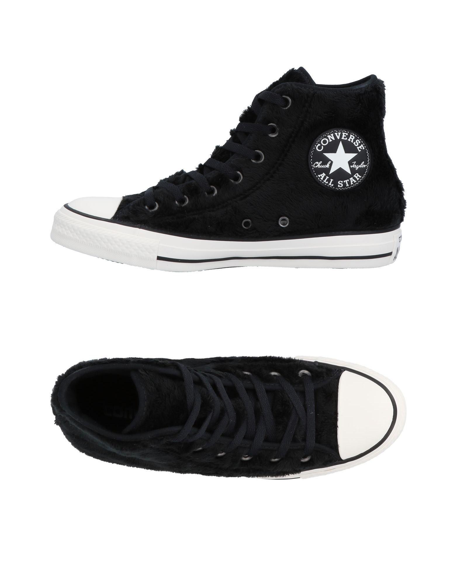 1ca2ea9e0f4 Converse High-tops   Sneakers in Black - Lyst