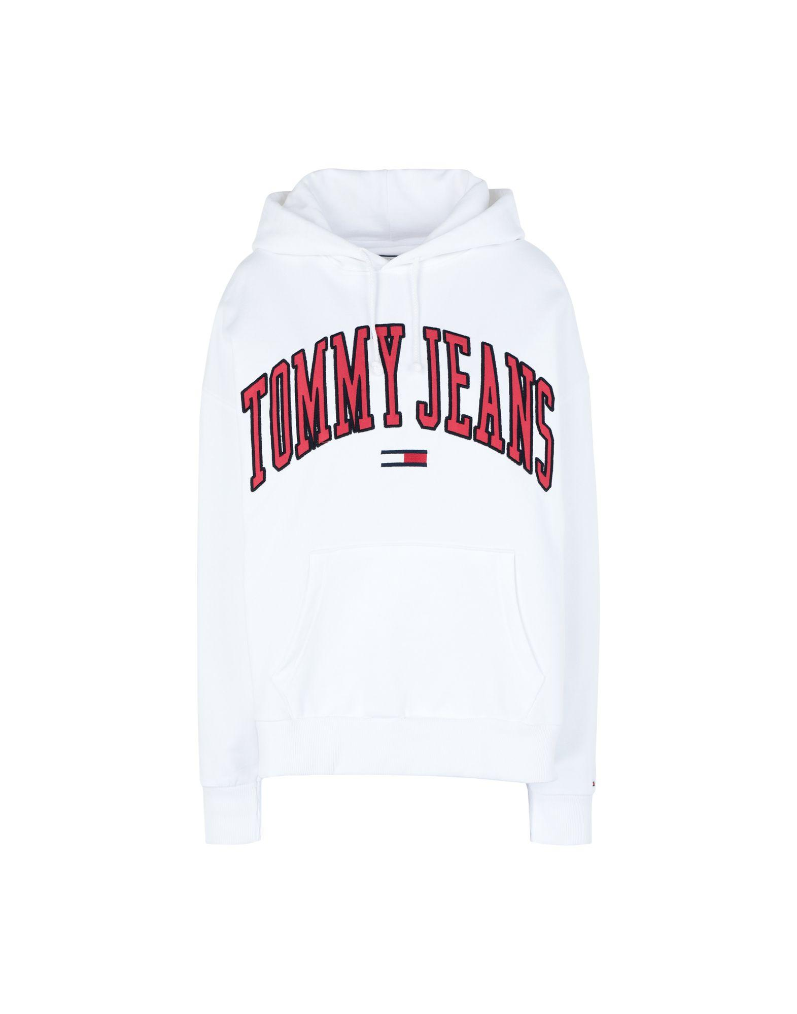 e4e48d512 Tommy Hilfiger Sweatshirt in White - Lyst