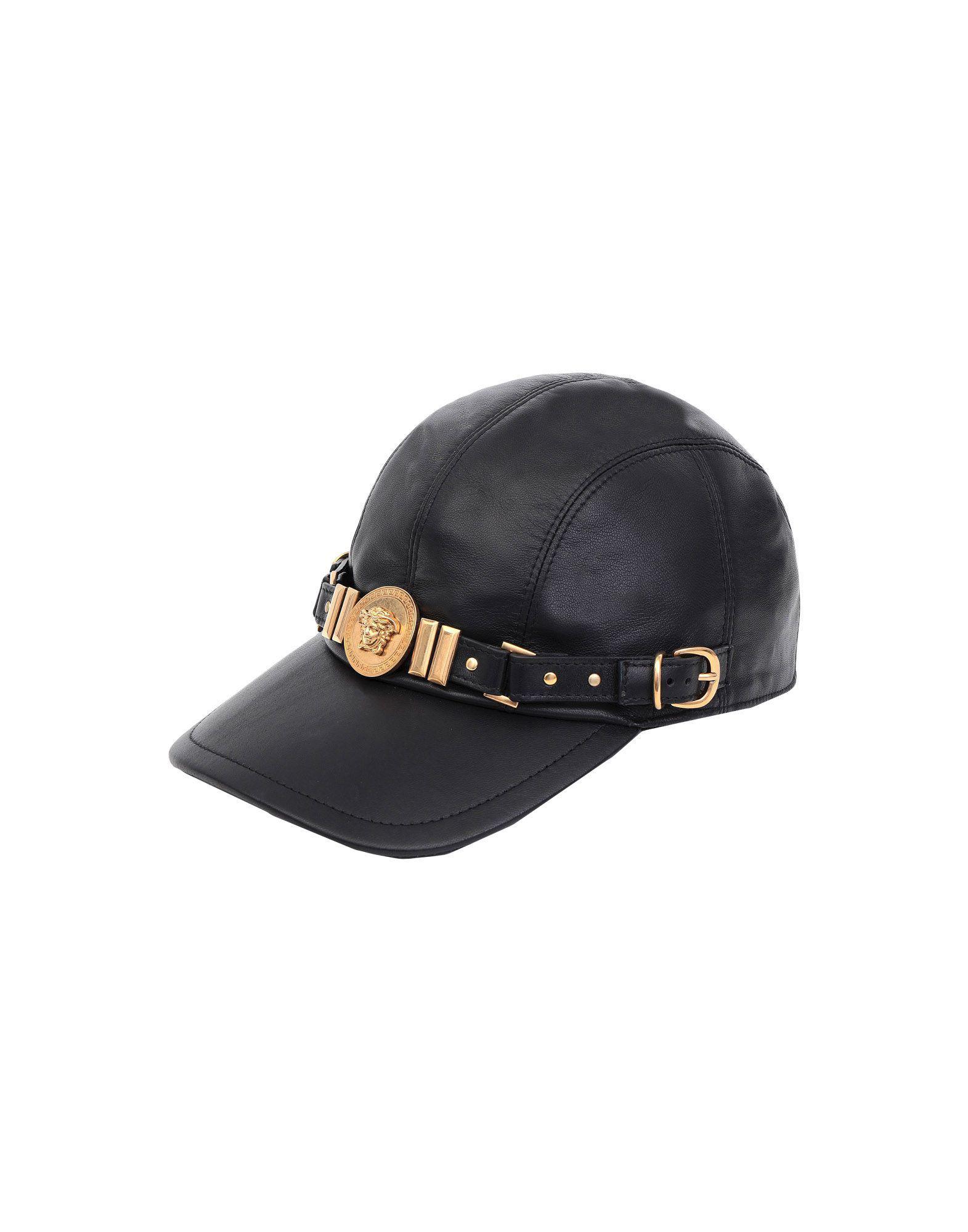 65e01d44 Lyst - Versace Hat in Black