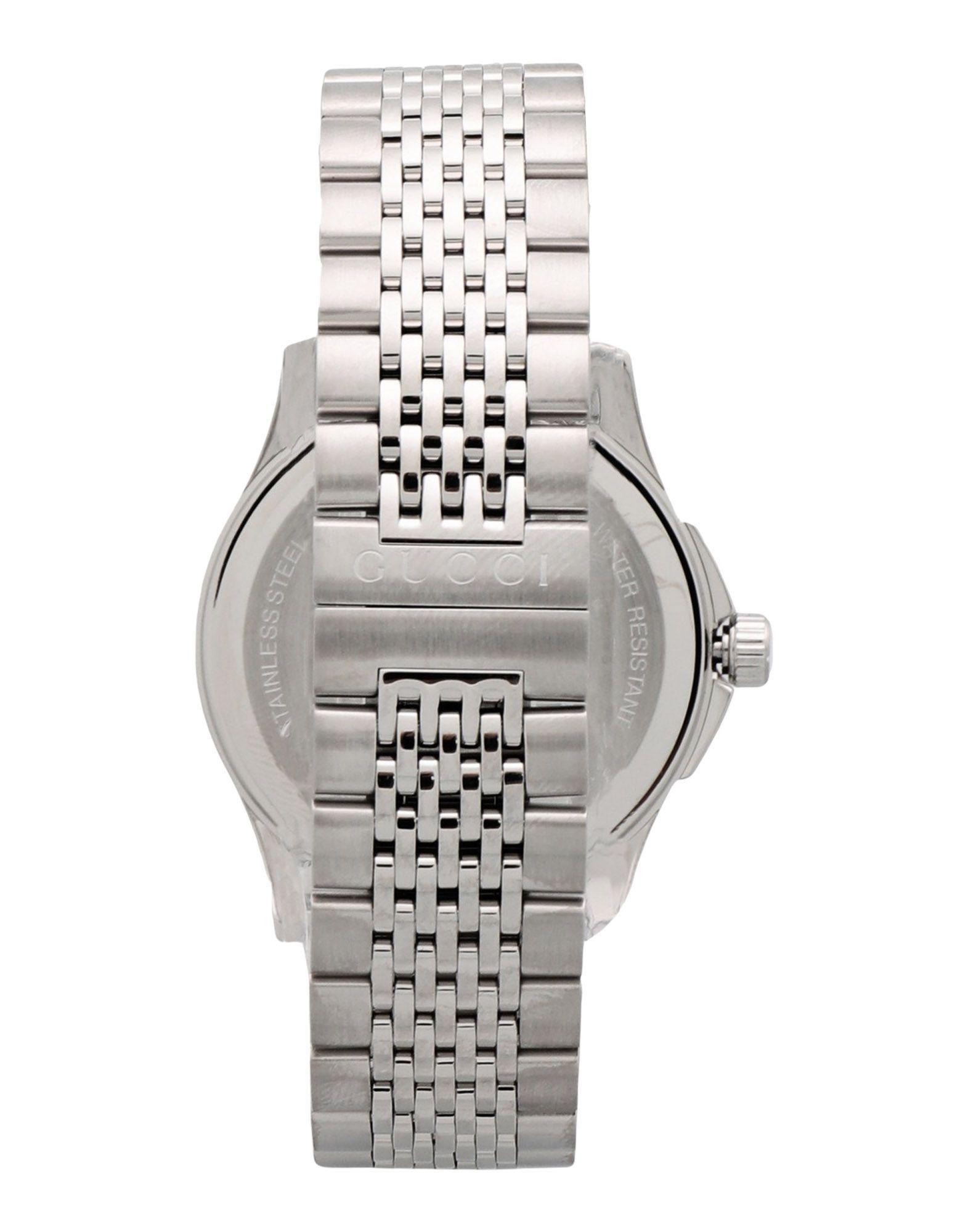 f321270b23c Lyst - Gucci Wrist Watch in Metallic for Men