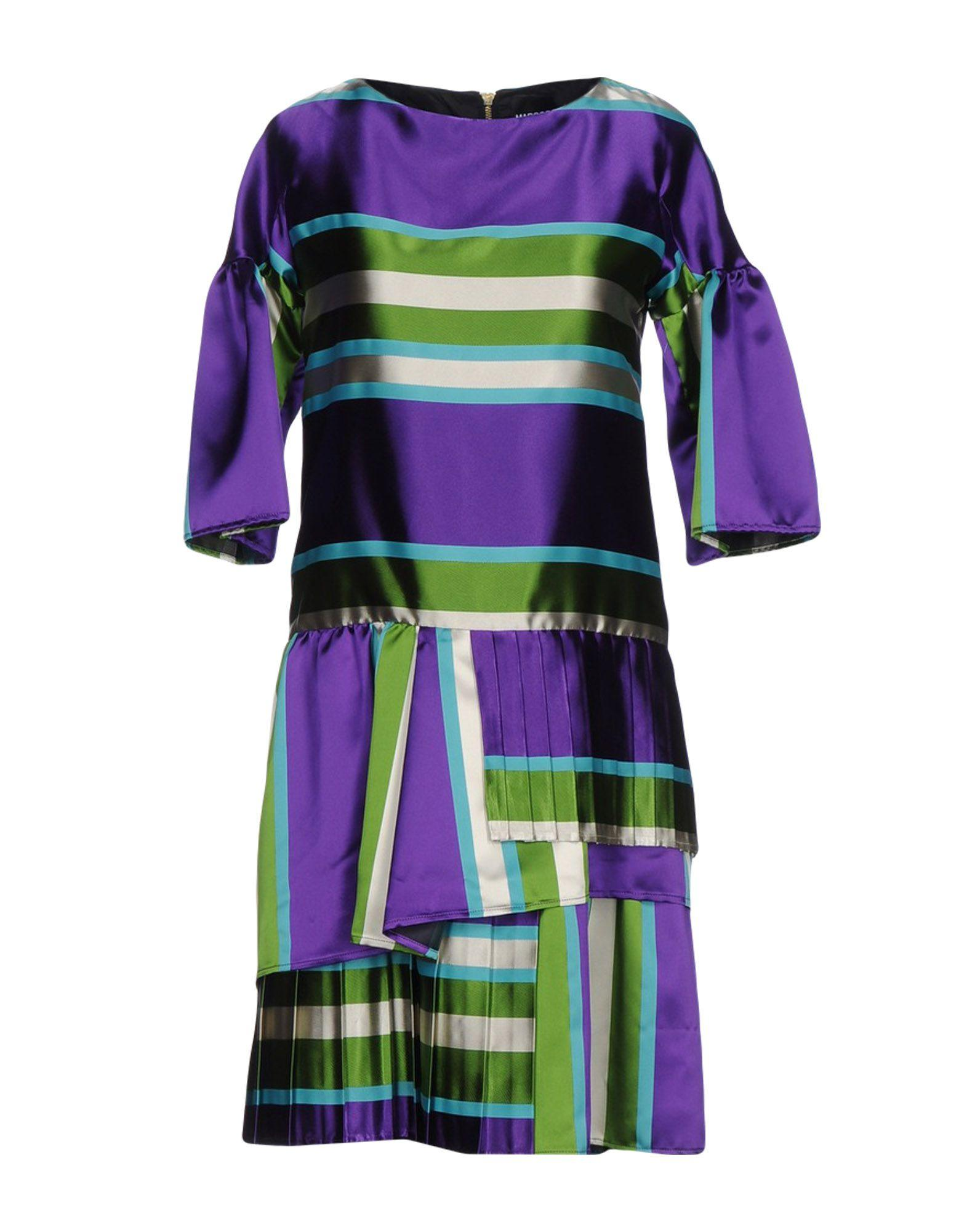 Marco Bologna Short Dress In Purple Lyst