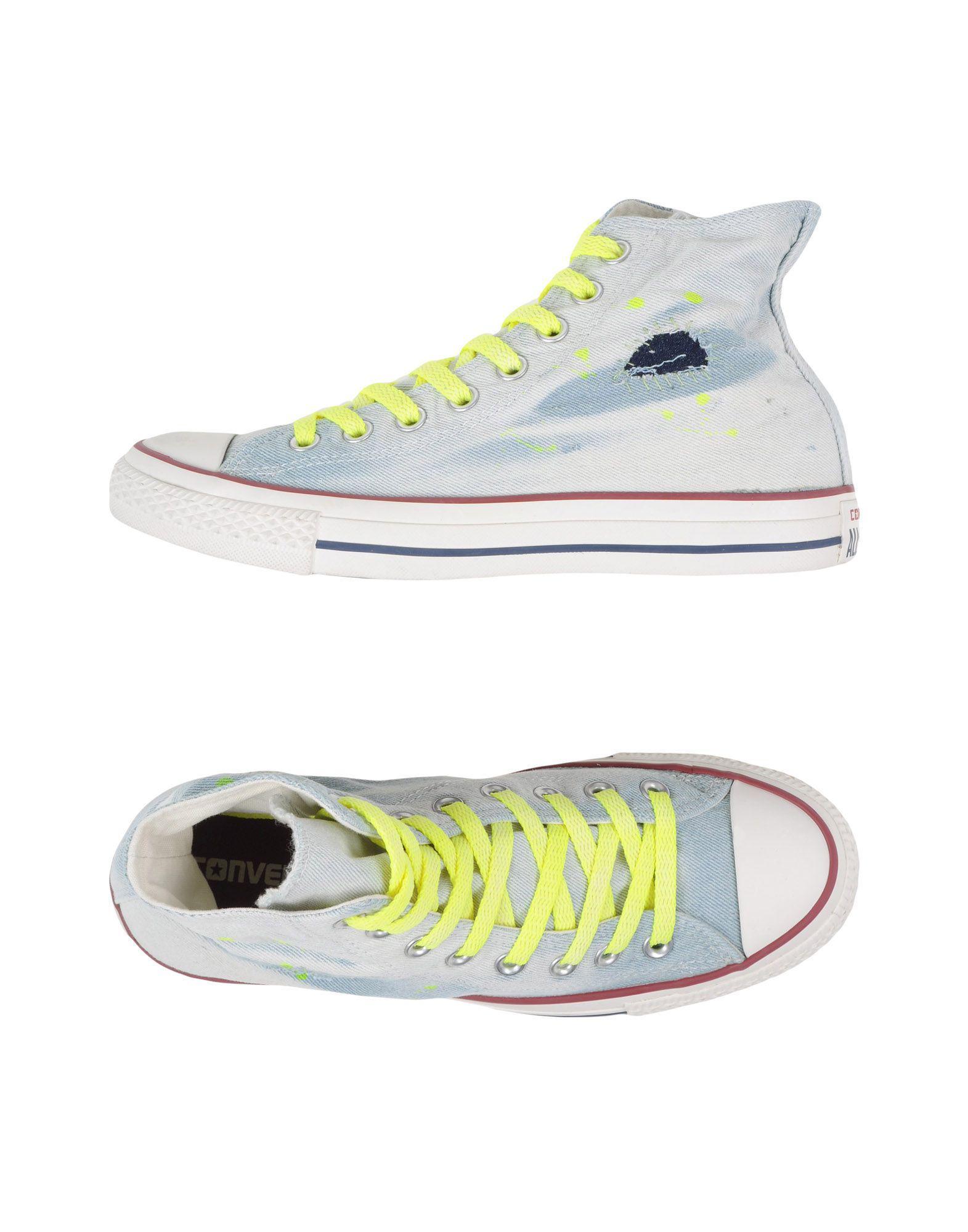 56eefc0b91fb Lyst - Converse High-tops   Sneakers in Yellow for Men