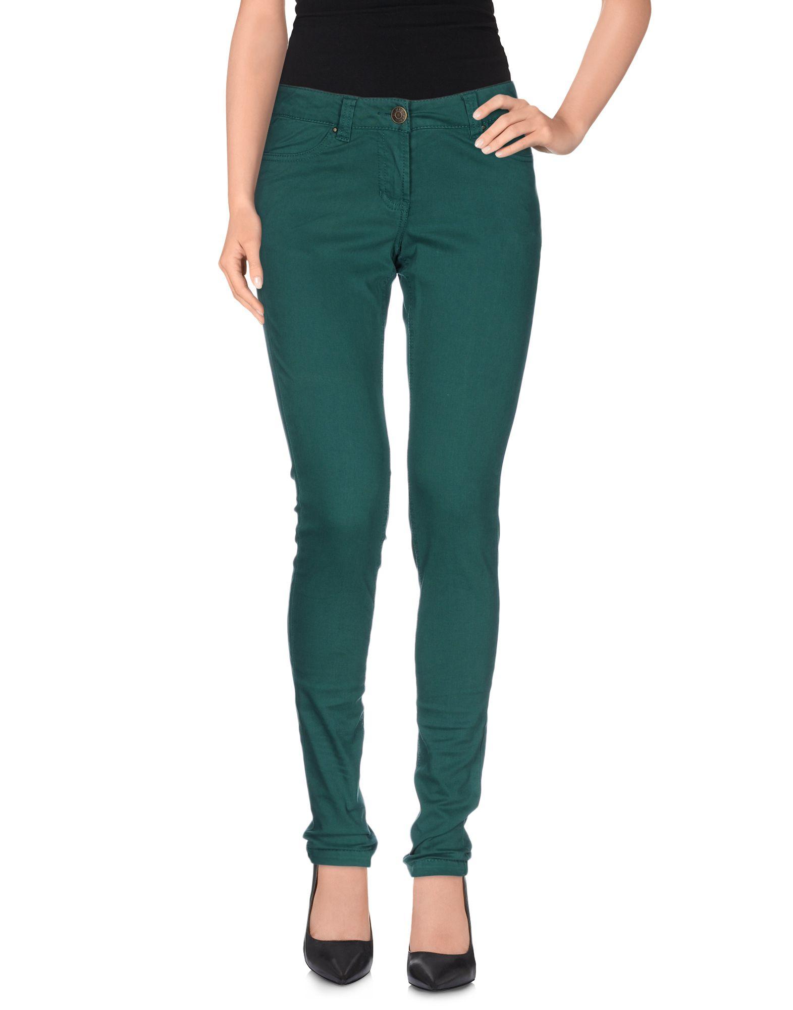 Silvian heach Casual Trouser in Green