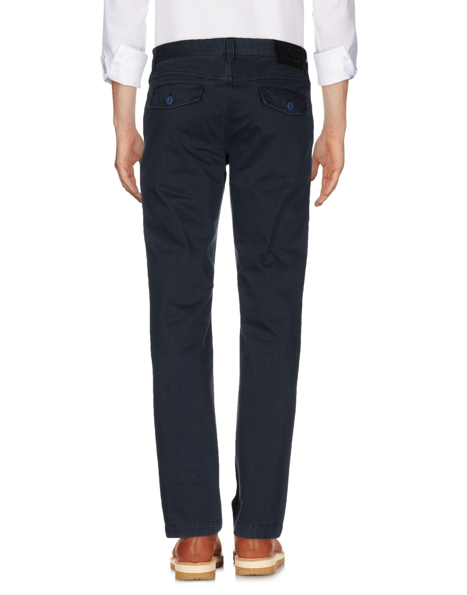 Lyst Ea7 Casual Pants In Blue For Men