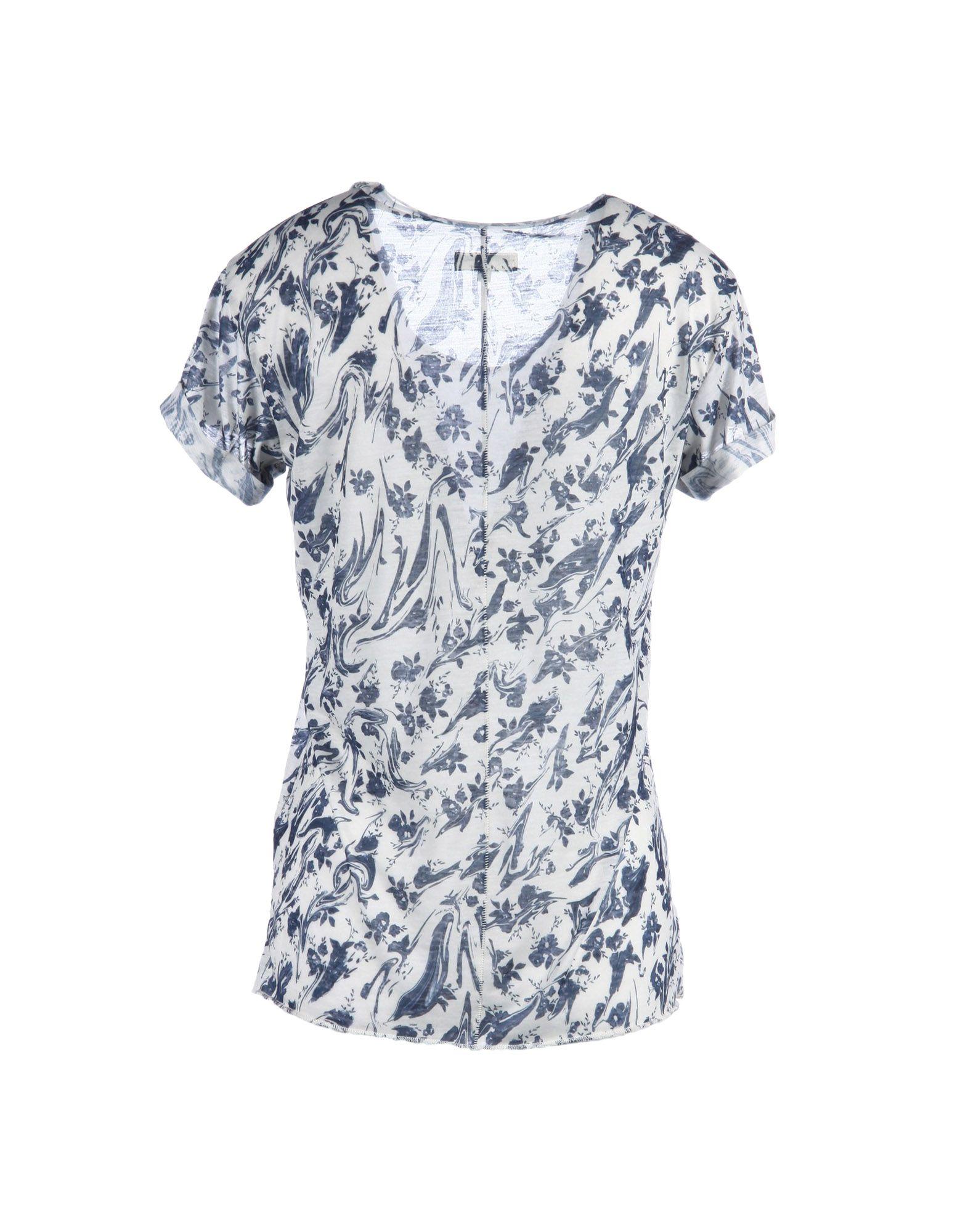 Lyst rag bone t shirt in blue for Rag and bone t shirts
