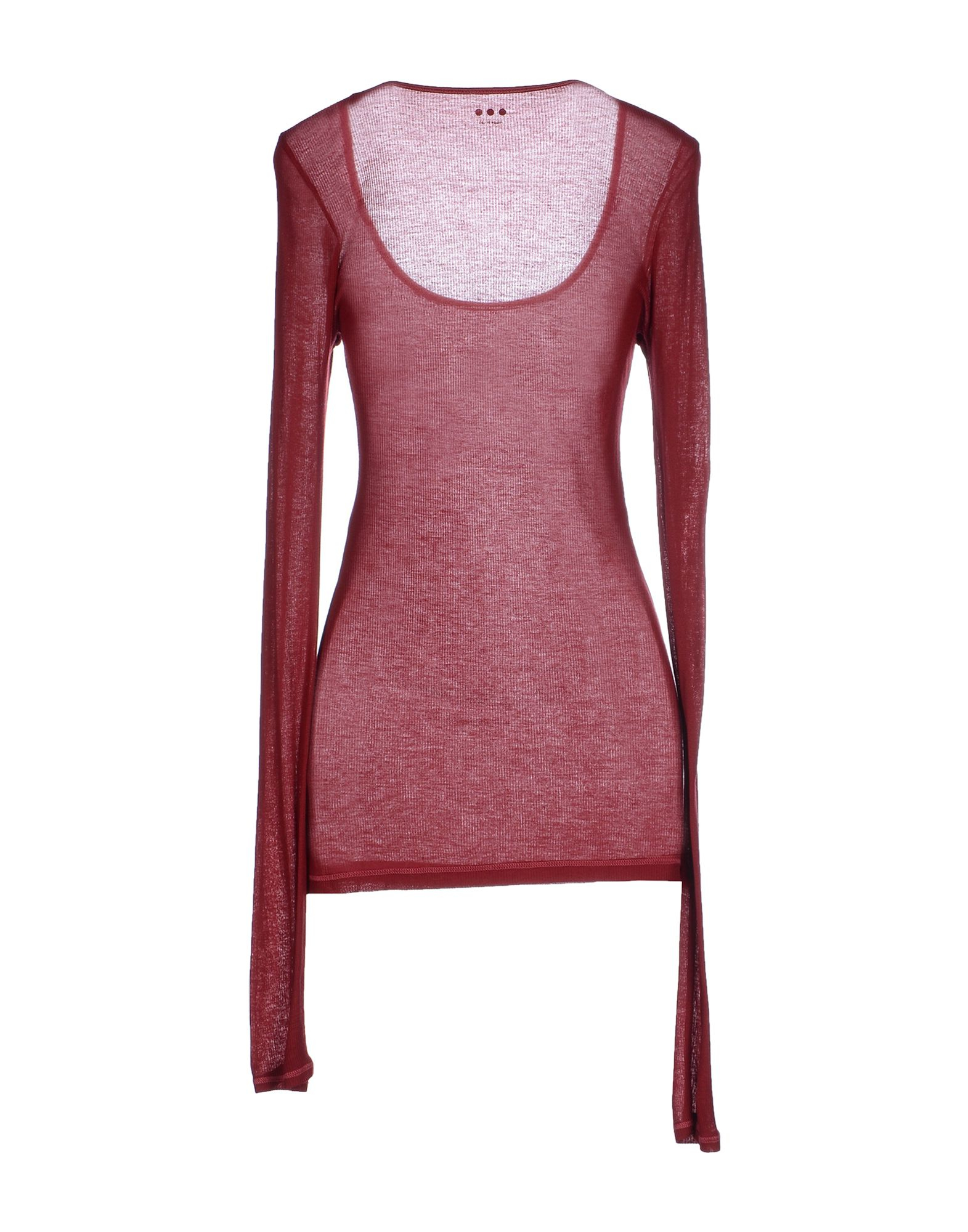 Lyst Three Dots T Shirt In Red