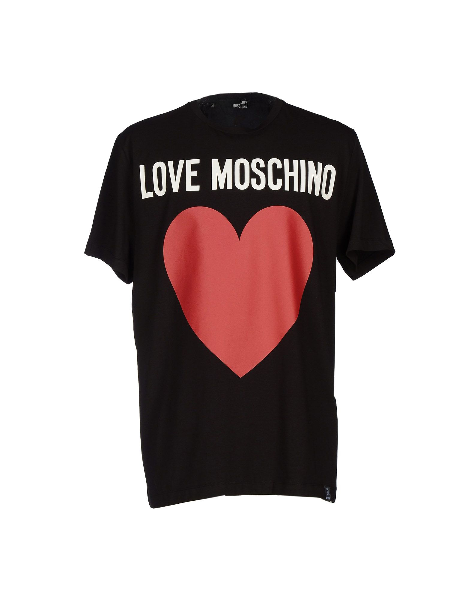 lyst love moschino t shirt in black for men. Black Bedroom Furniture Sets. Home Design Ideas