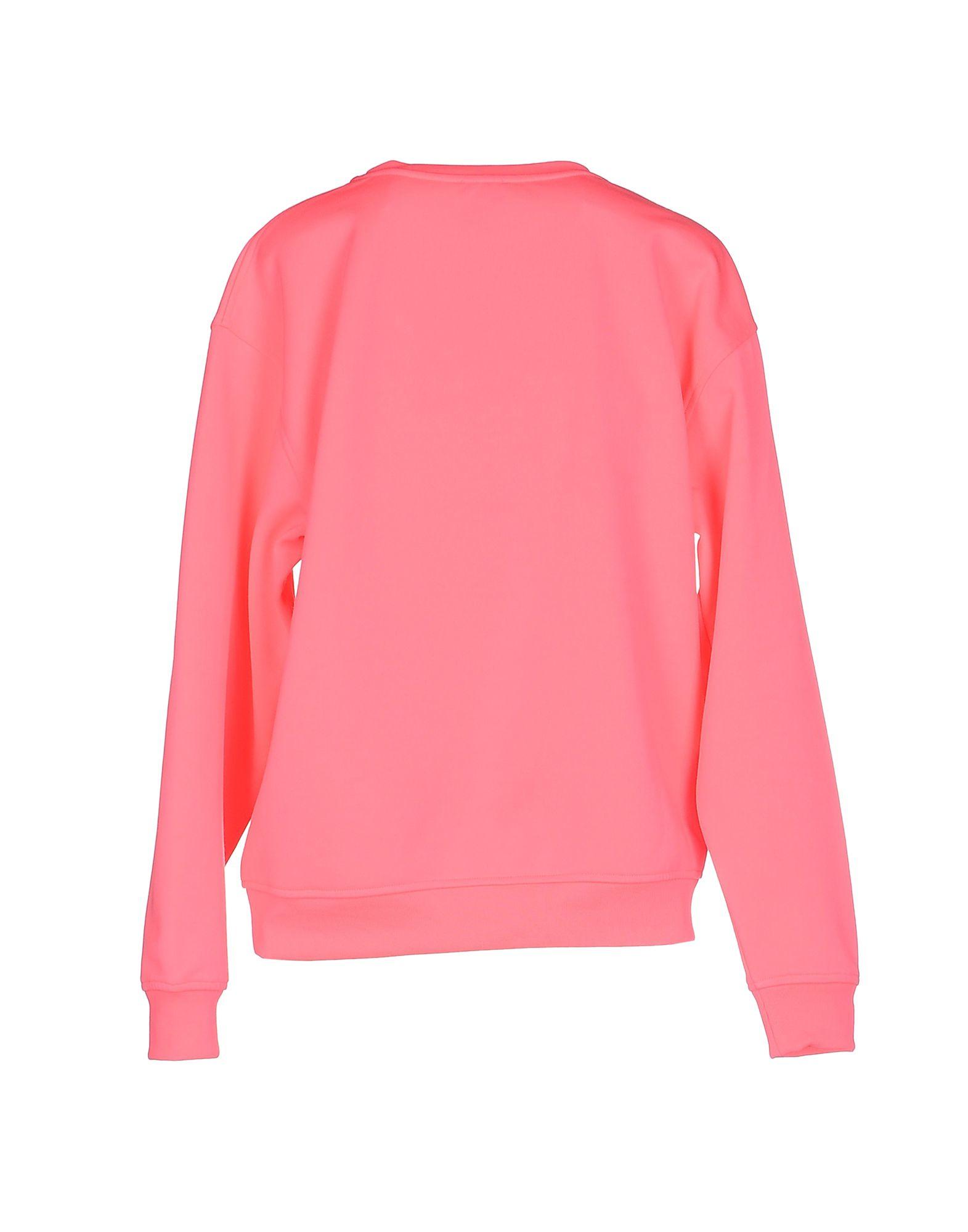 mcq alexander mcqueen sweatshirt in pink fuchsia lyst. Black Bedroom Furniture Sets. Home Design Ideas