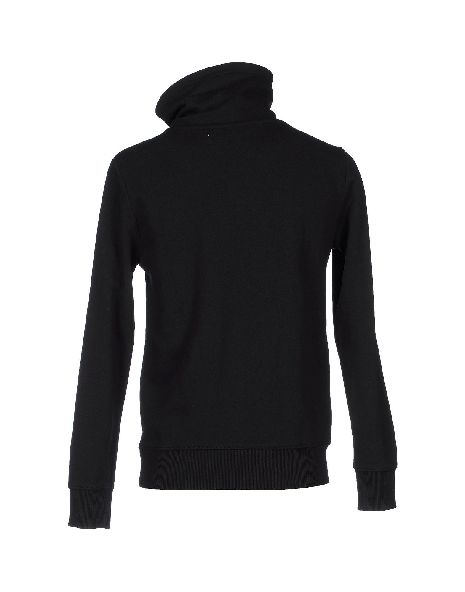 calvin klein jeans sweatshirt in black for men lyst. Black Bedroom Furniture Sets. Home Design Ideas