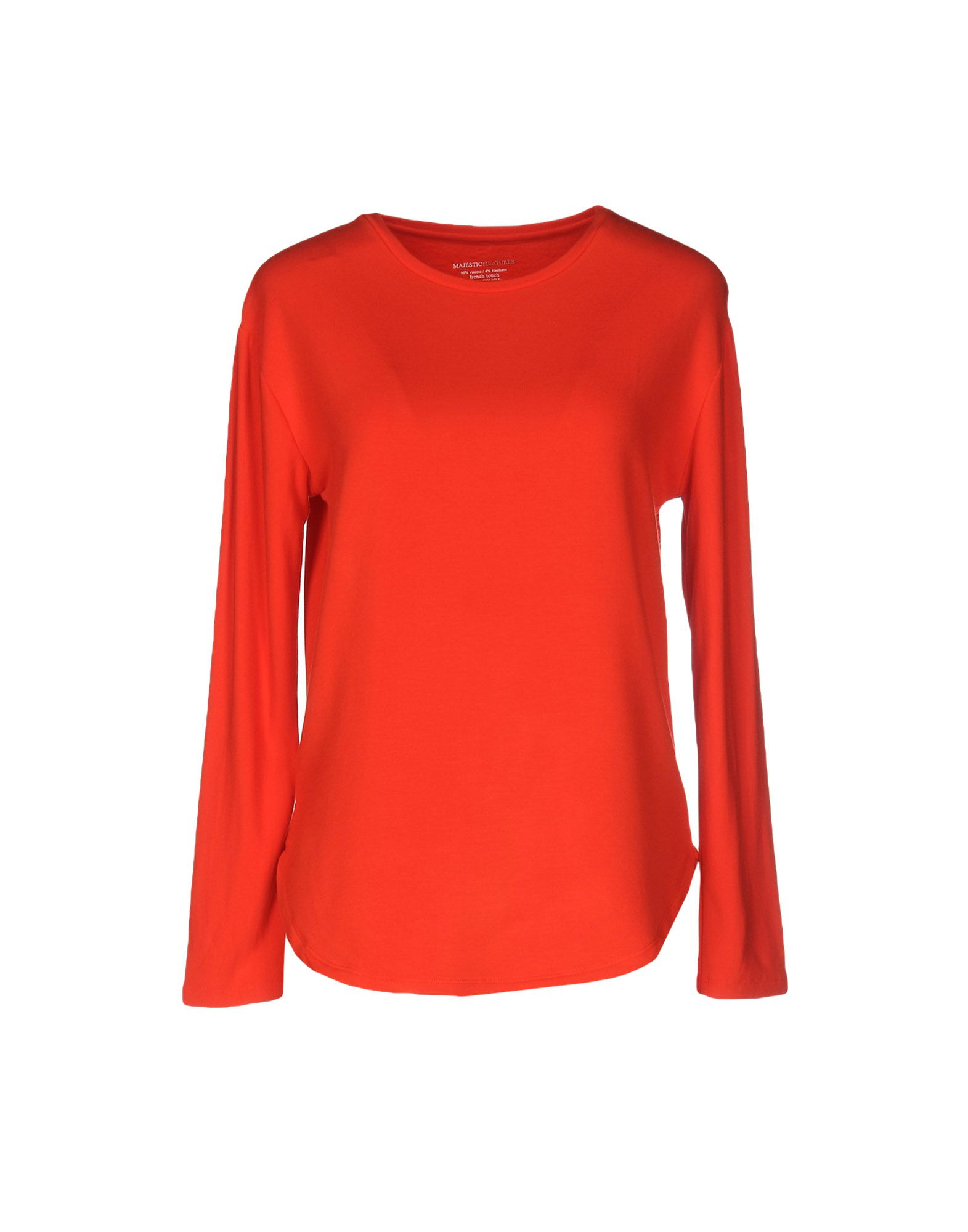 Majestic Filatures T Shirt In Red Lyst