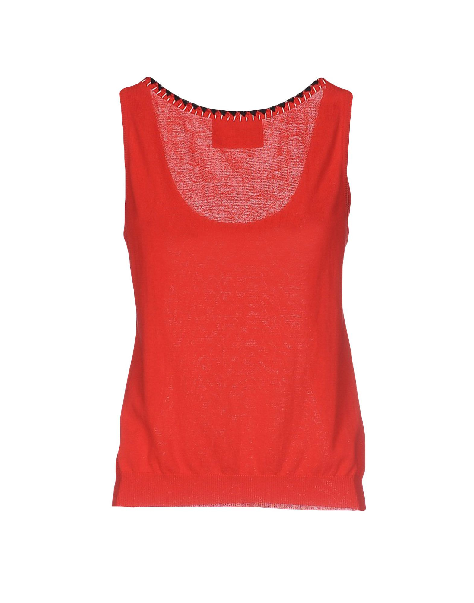 Lyst boutique moschino top in red for Boutique tops