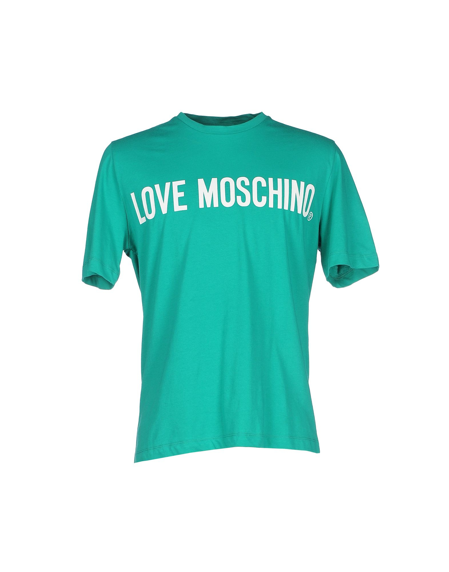 lyst love moschino t shirt in green for men. Black Bedroom Furniture Sets. Home Design Ideas
