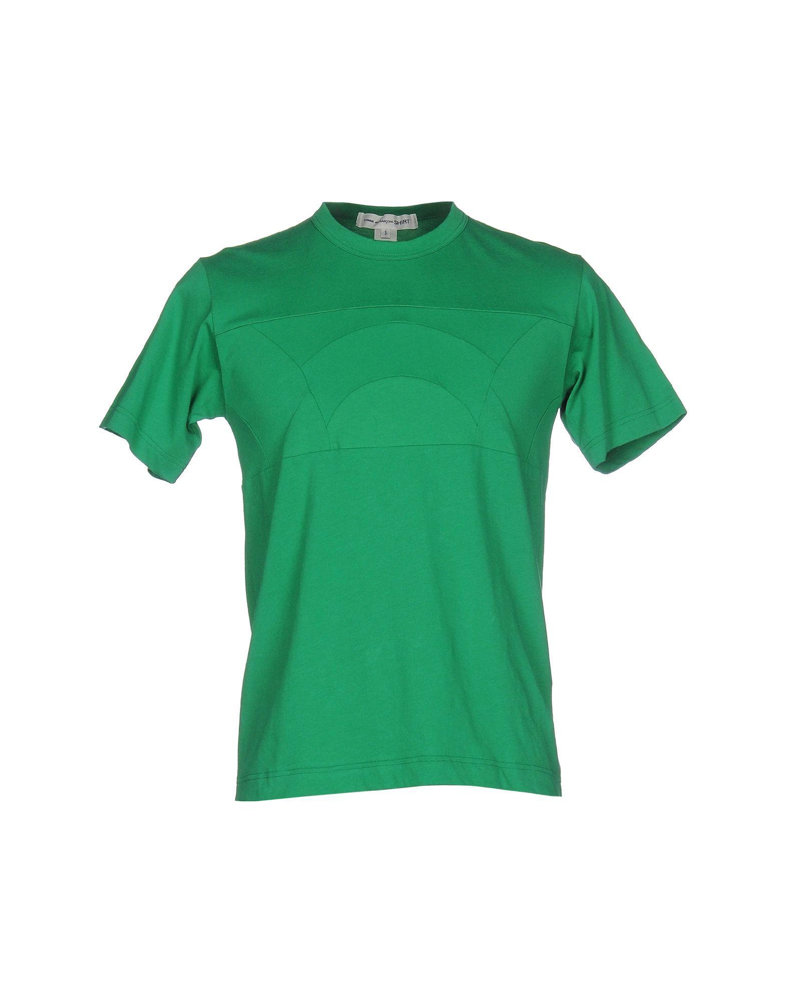 lyst comme des gar ons t shirt in green for men. Black Bedroom Furniture Sets. Home Design Ideas