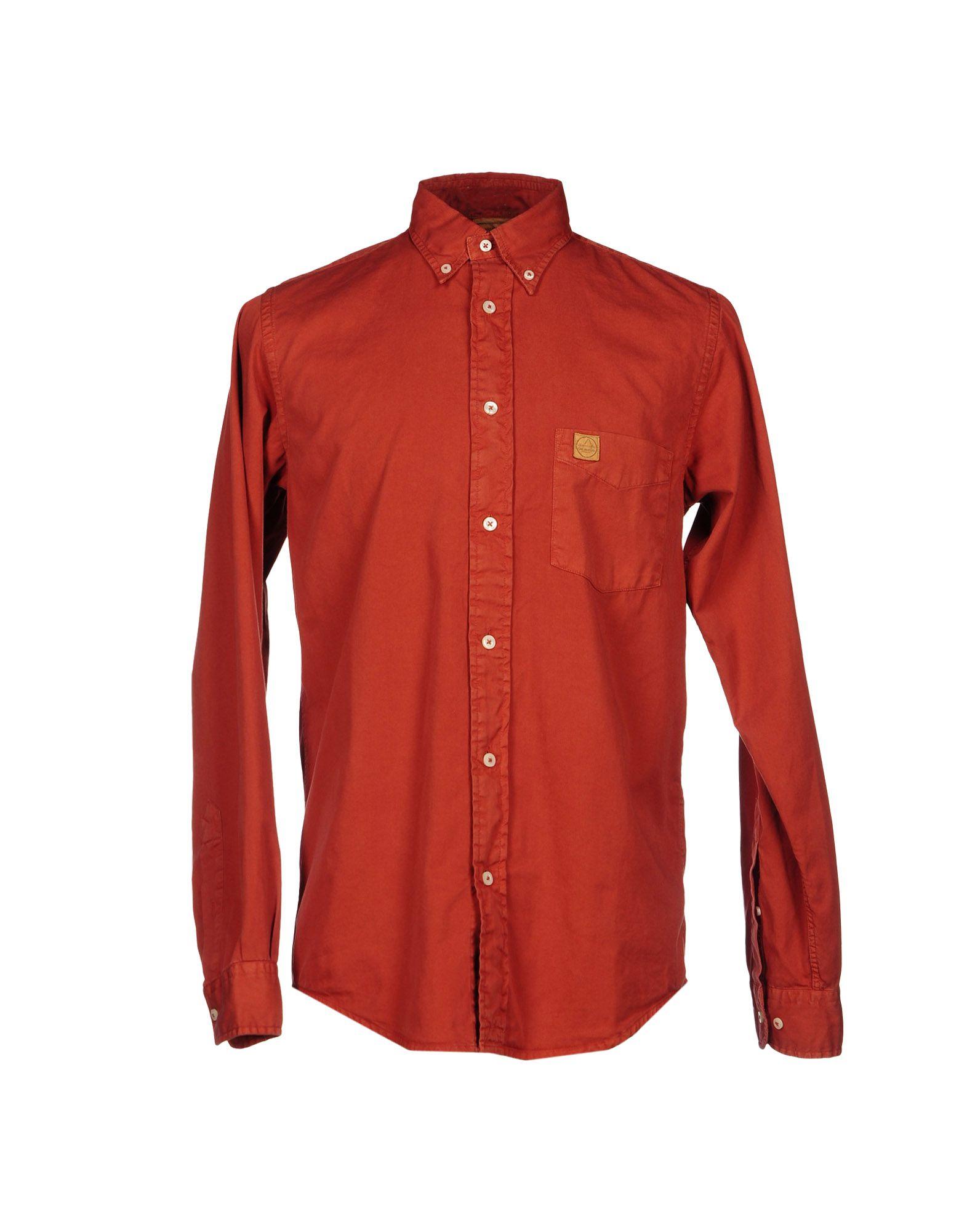 murphy nye shirt in orange lyst. Black Bedroom Furniture Sets. Home Design Ideas