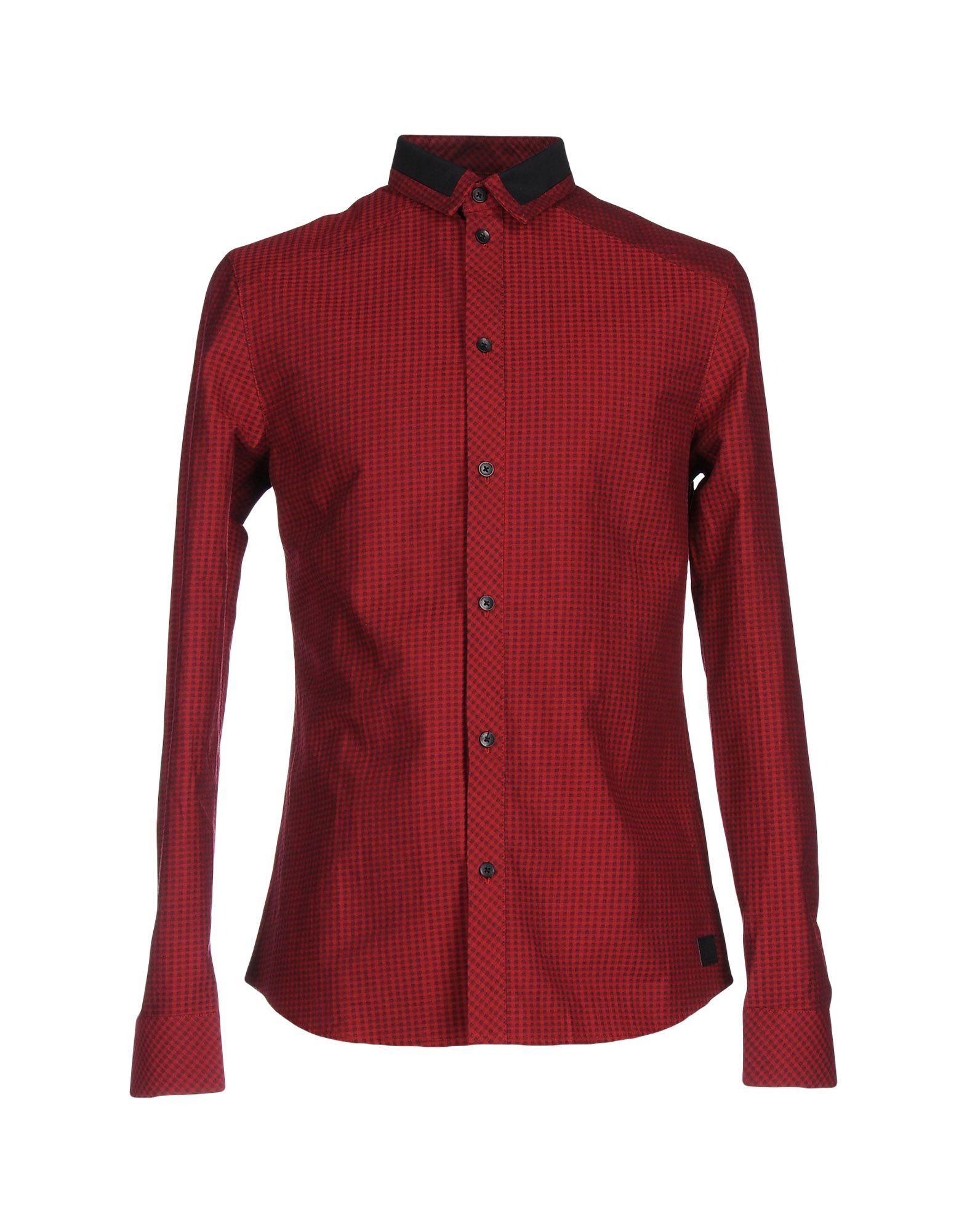 eleven paris shirt in red for men lyst. Black Bedroom Furniture Sets. Home Design Ideas