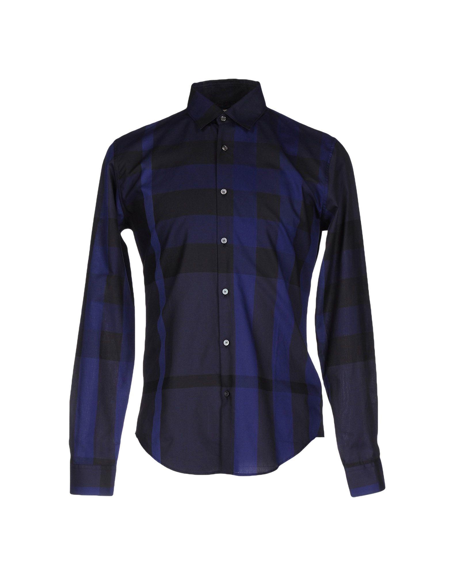 Lyst Burberry Shirt In Black For Men