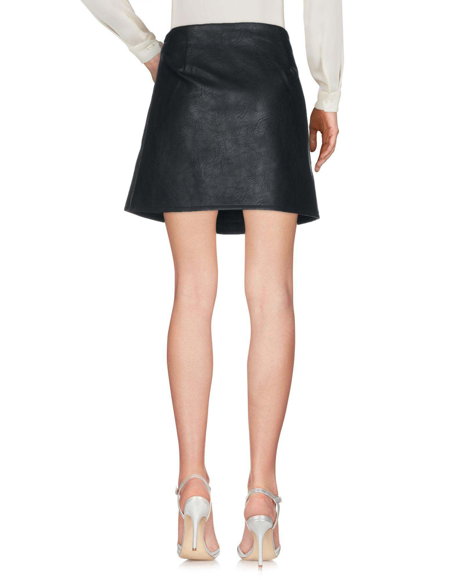 be3703068f8c Lyst - Mini-jupe ONLY en coloris Noir