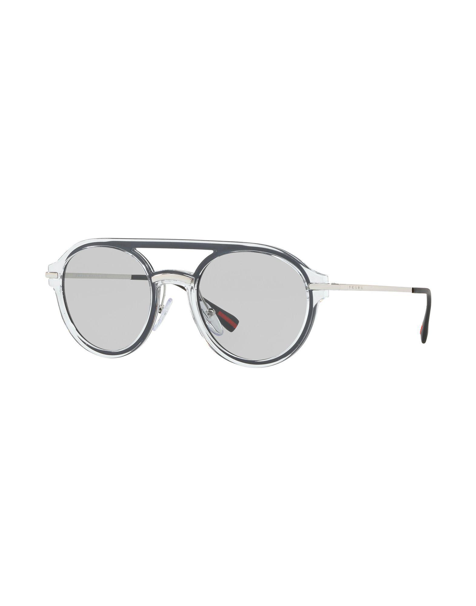 9d14d9f289 Prada - Gray Gafas de sol for Men - Lyst. Ver en pantalla completa
