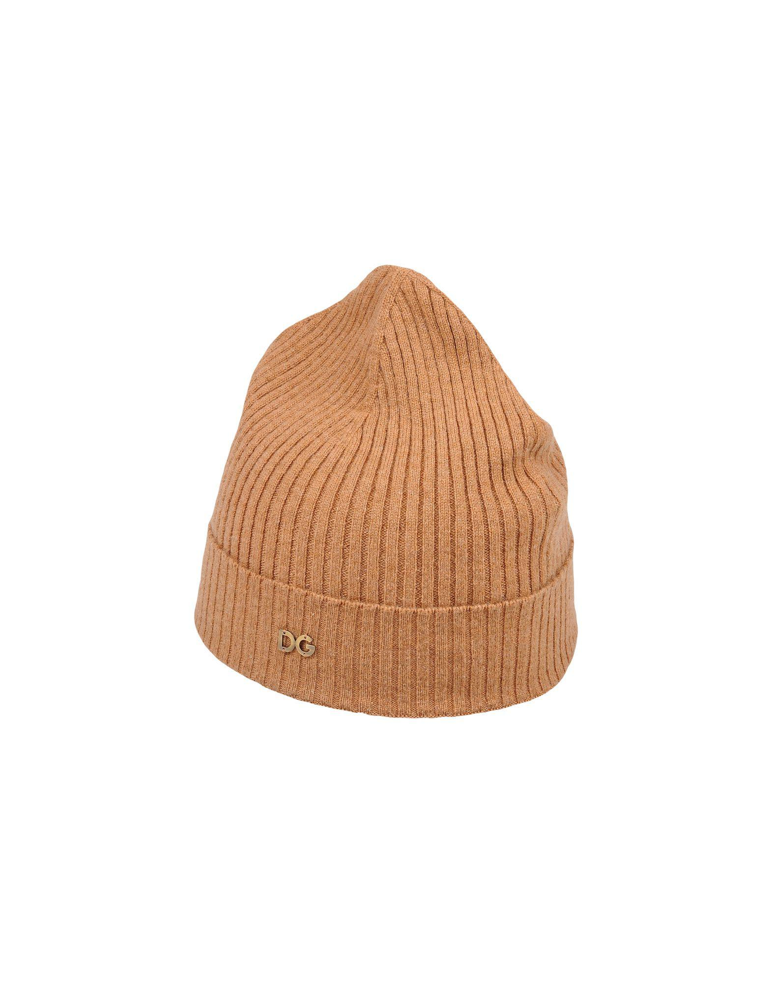 9fb9f0144d4 Lyst - Dolce   Gabbana Hats in Brown