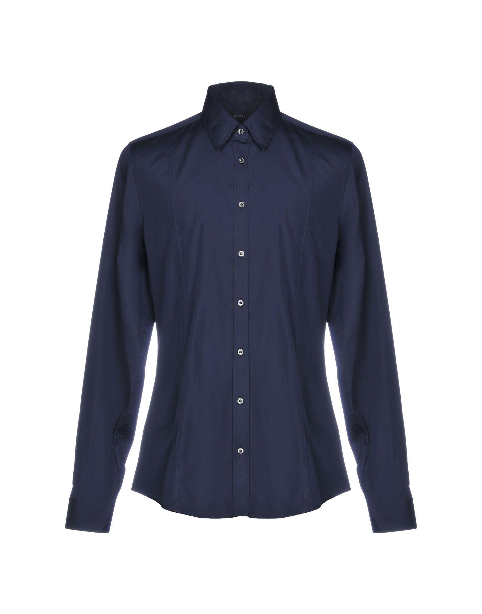 7098b5db31f8 Gucci Shirt in Blue for Men - Lyst