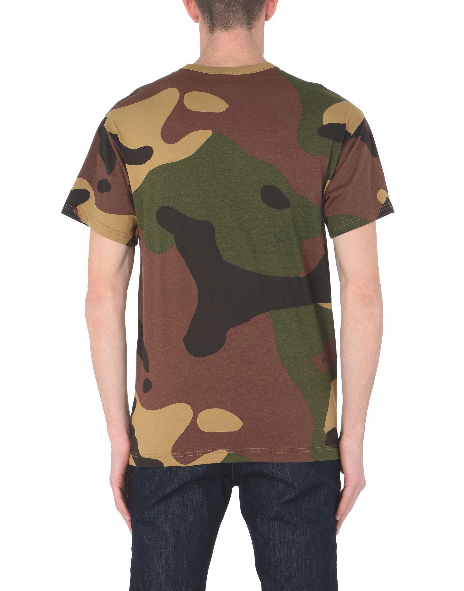 c37ec0e9fa G-Star RAW T-shirt in Brown for Men - Lyst