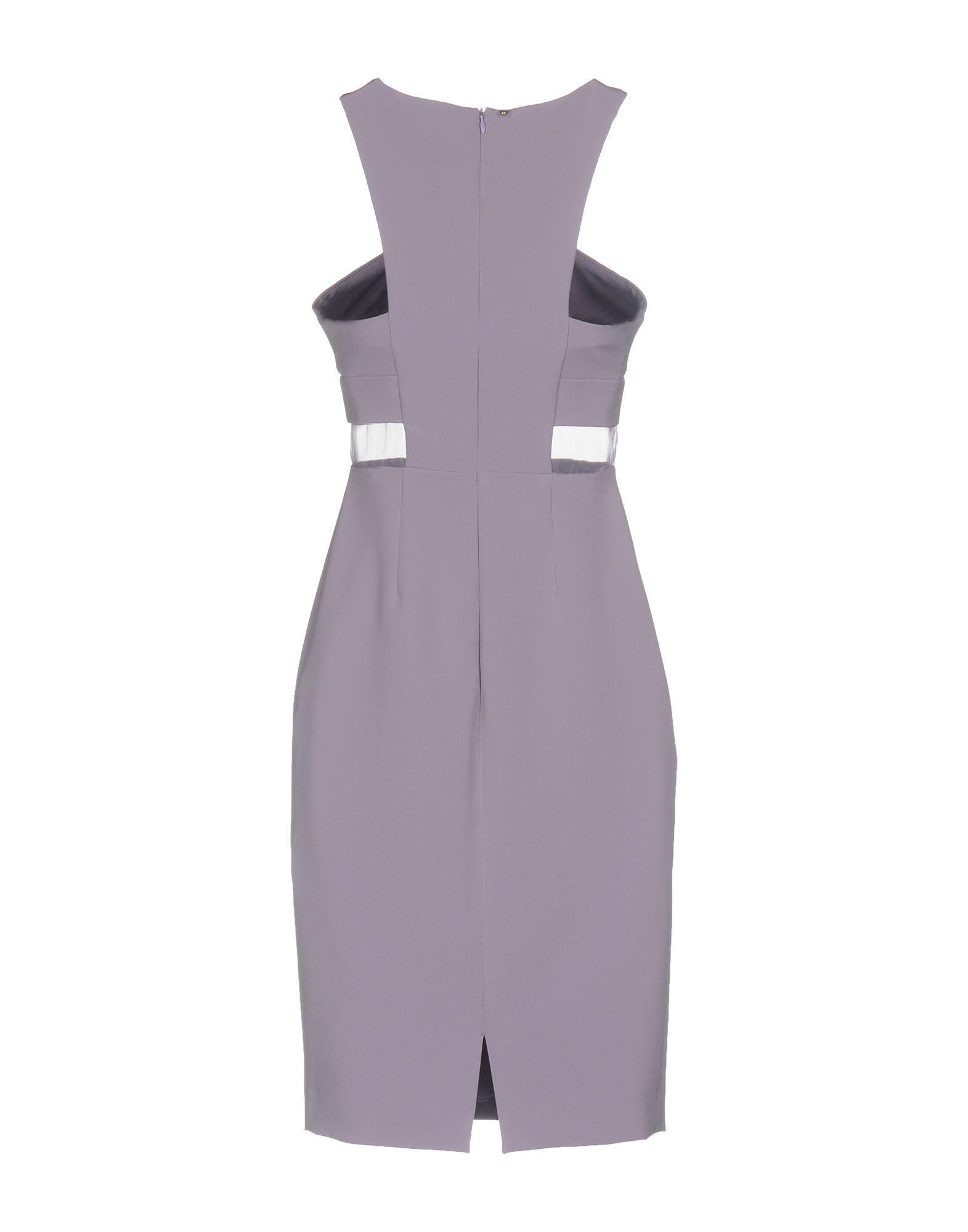Annarita Knee Lyst Dress Length N Purple In FF1Twgxrq