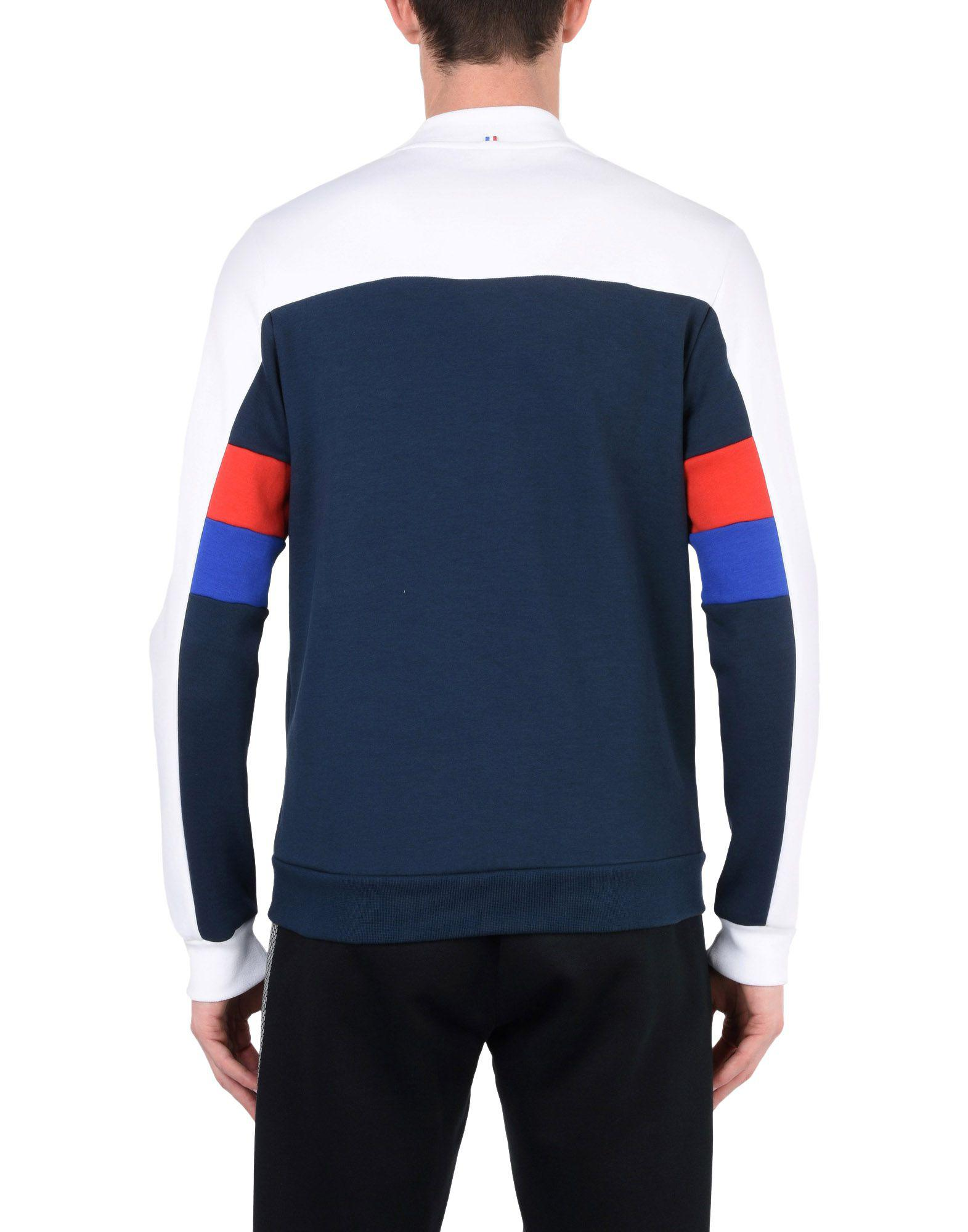 663042e65fe7 Lyst - Le Coq Sportif Sweatshirt in Blue for Men