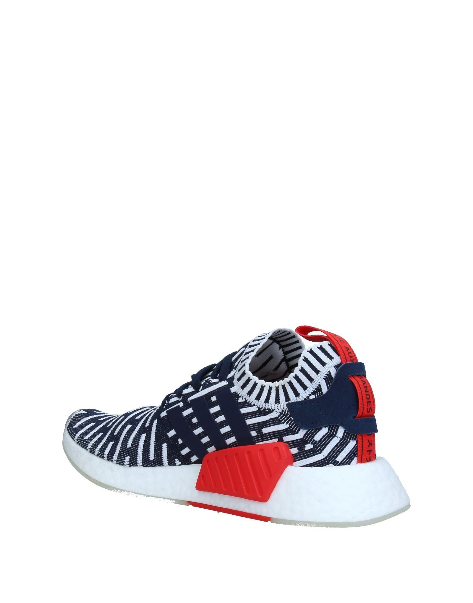 142c08d2a adidas Originals Nmd R2 Prime-knit Sneakers in Blue for Men - Save  47.18614718614719% - Lyst