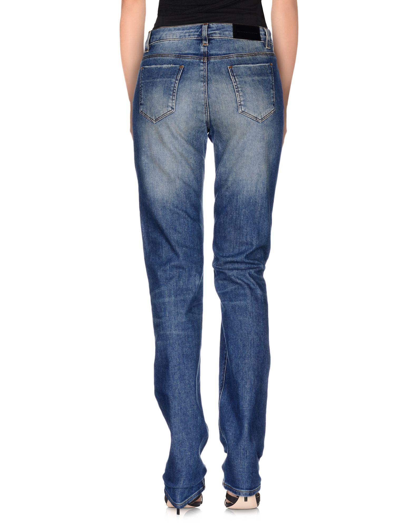Lyst Victoria Beckham Denim Pants In Blue