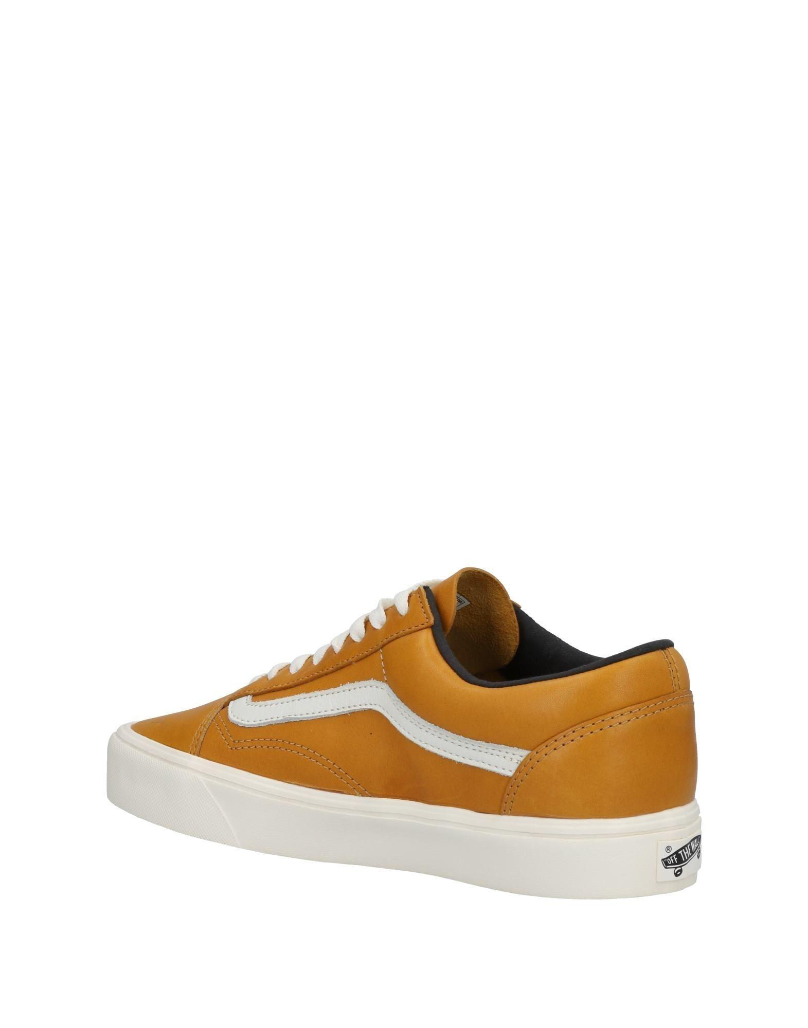 b854a90222fbec Vans Low-tops   Sneakers in Orange for Men - Lyst