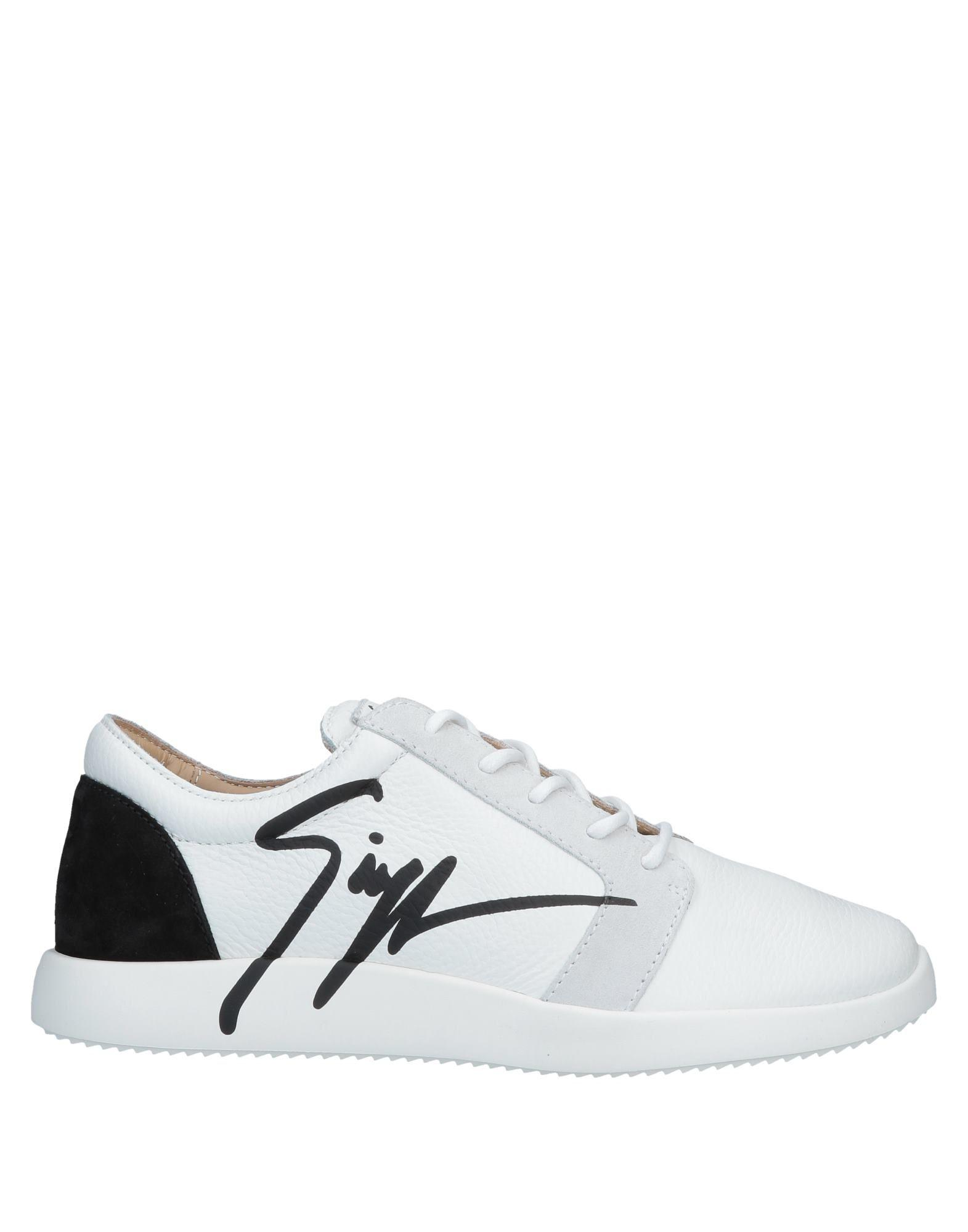f5459983708c Giuseppe Zanotti G Runner Sneakers in White for Men - Save 69% - Lyst