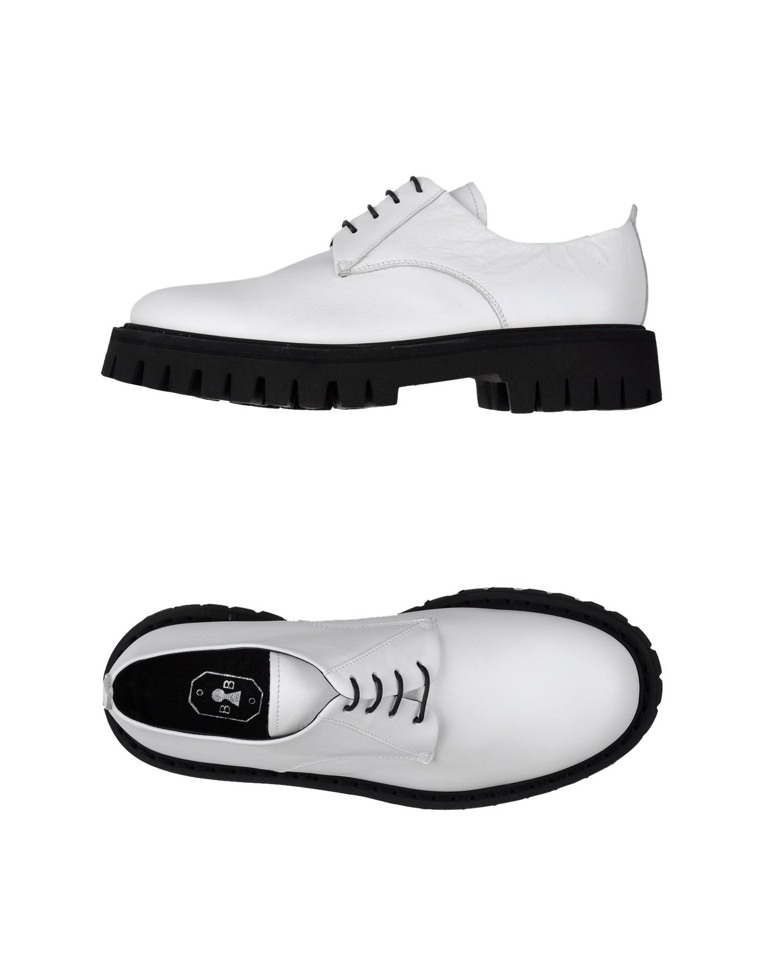 bruno bordese lace up shoe in white lyst