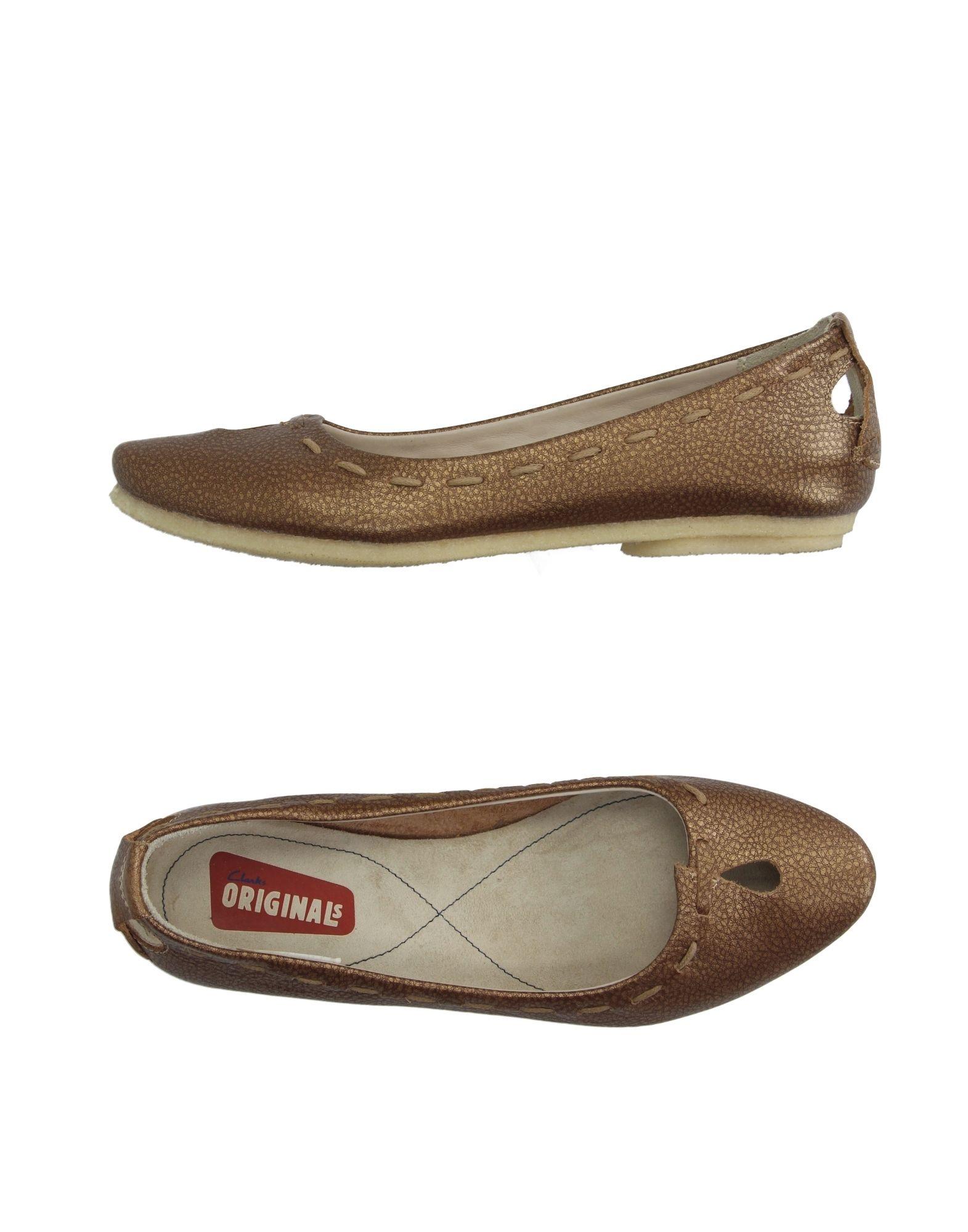Blue Brown Ballet Shoes