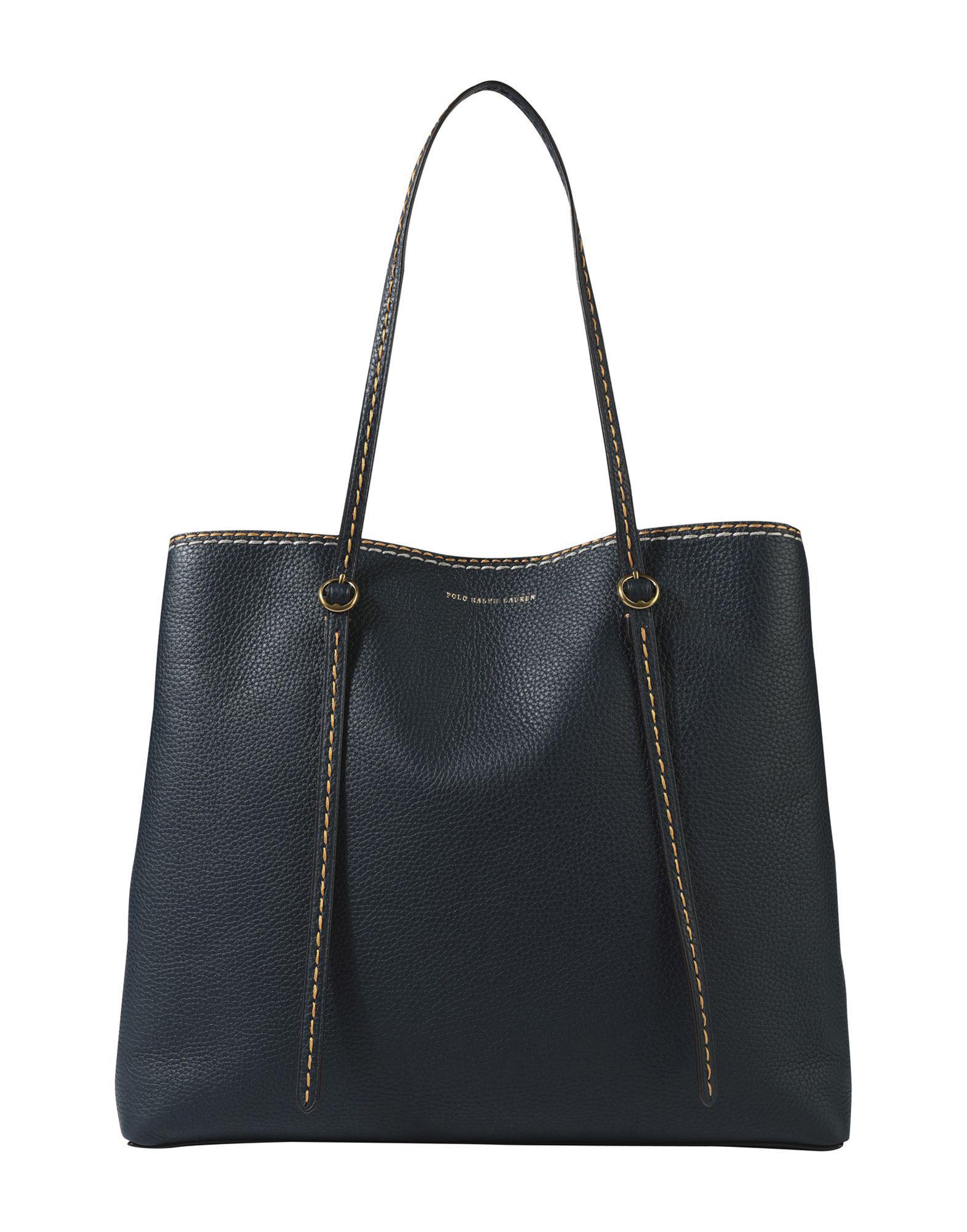 3165af30b1 Polo Ralph Lauren Handbag in Blue - Lyst
