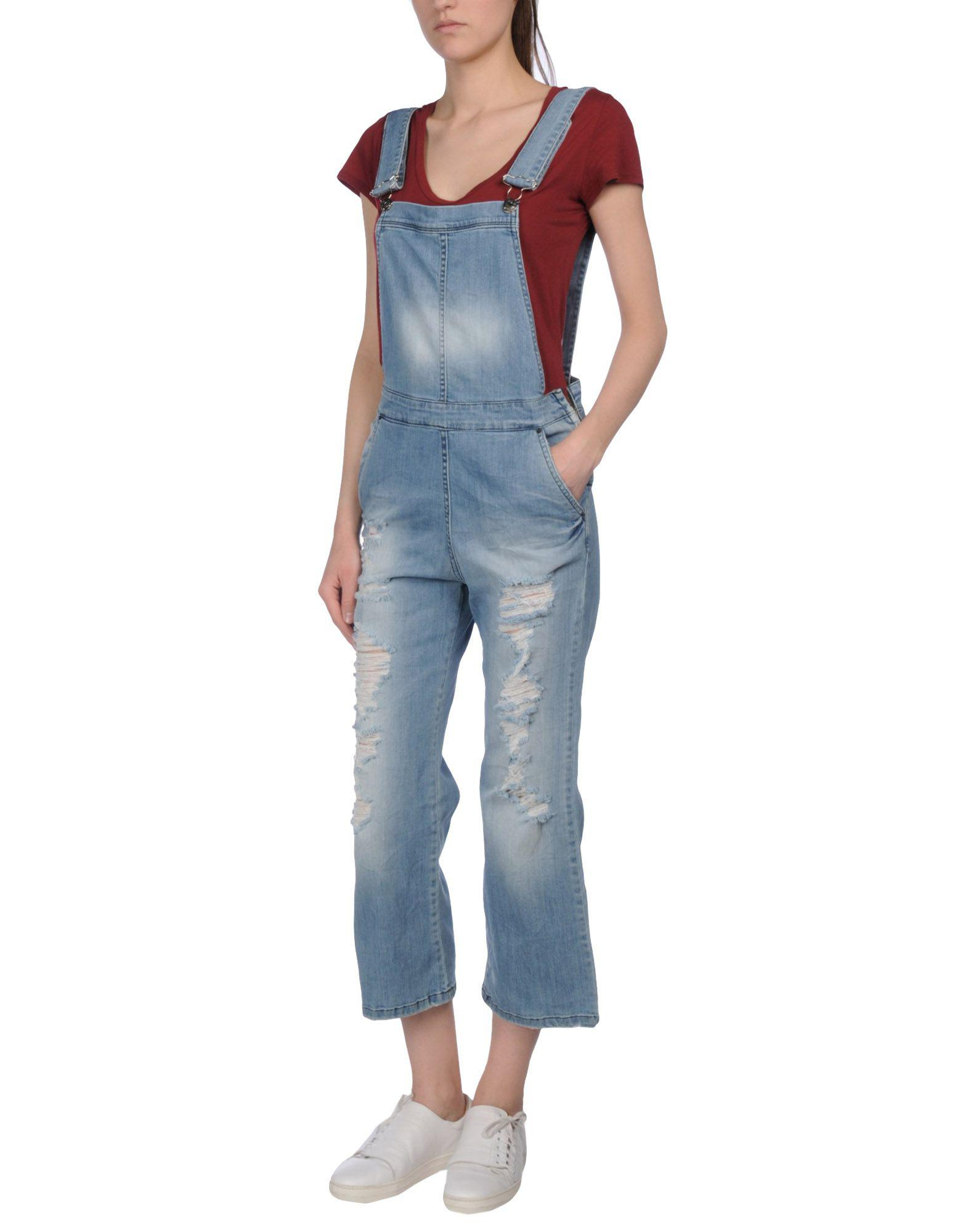 DUNGAREES - Short dungarees Klixs Jeans Free Shipping Very Cheap Store Cheap Price Cheap Genuine nxfOfkD8V
