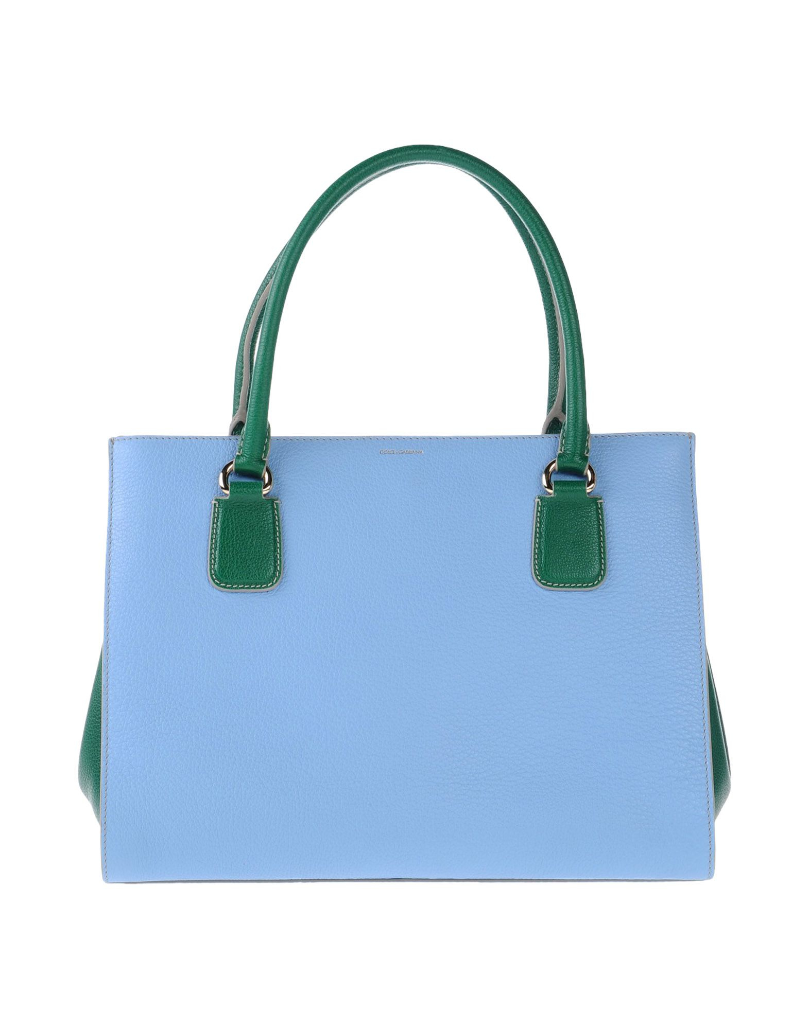 Lyst Dolce Amp Gabbana Handbag In Blue