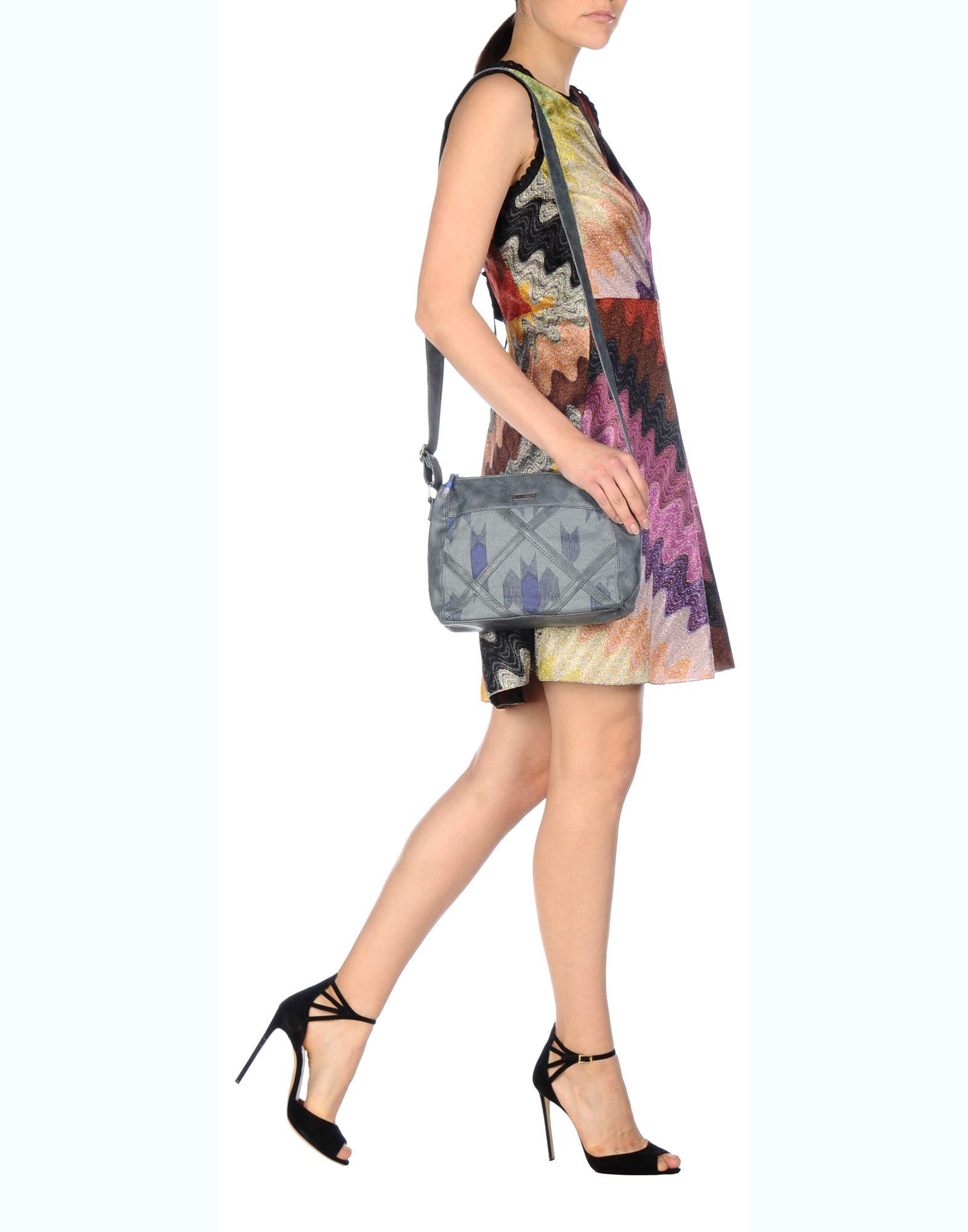 Roxy Cross-body Bag in Gray | Lyst