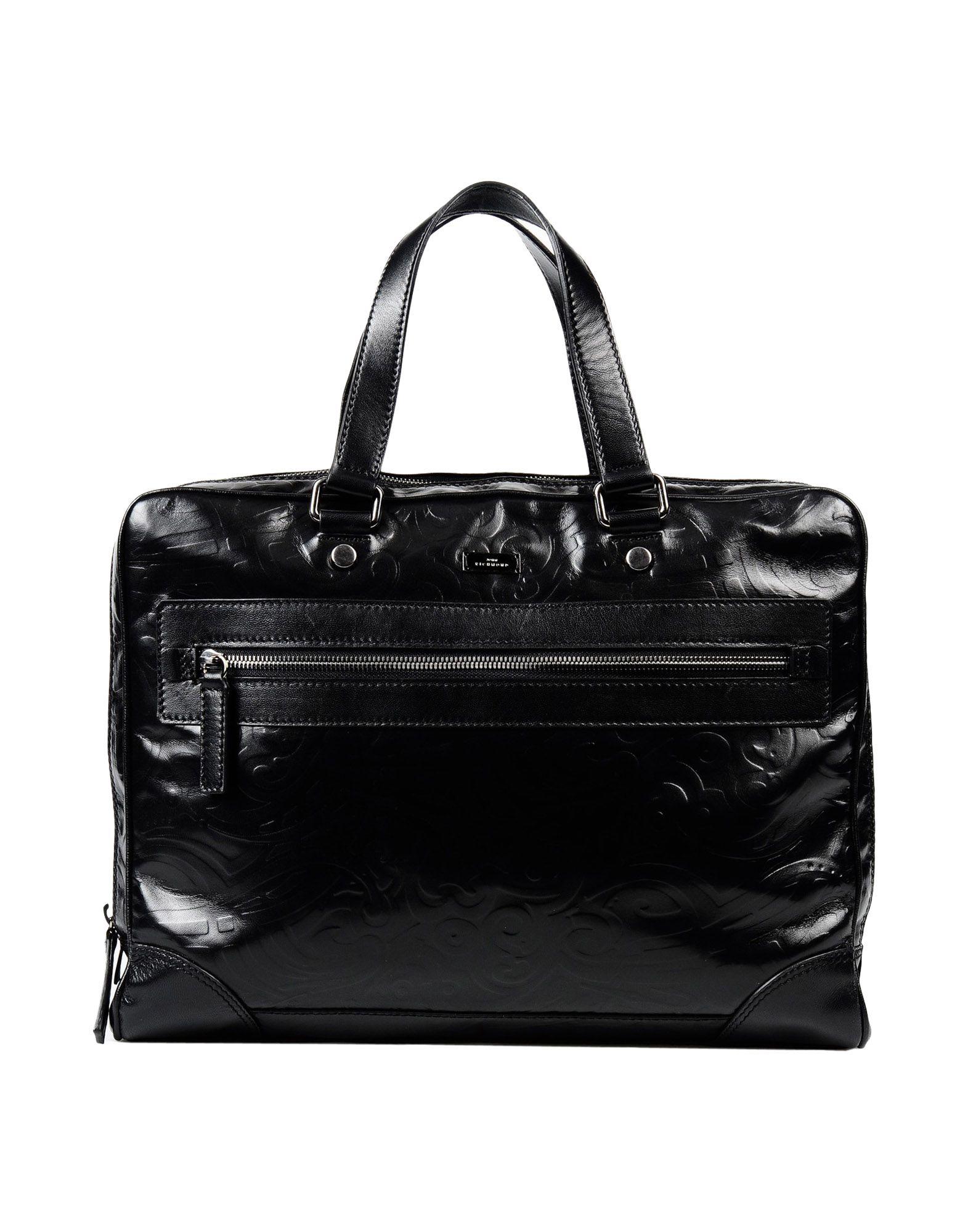 John richmond Work Bags in Black for Men