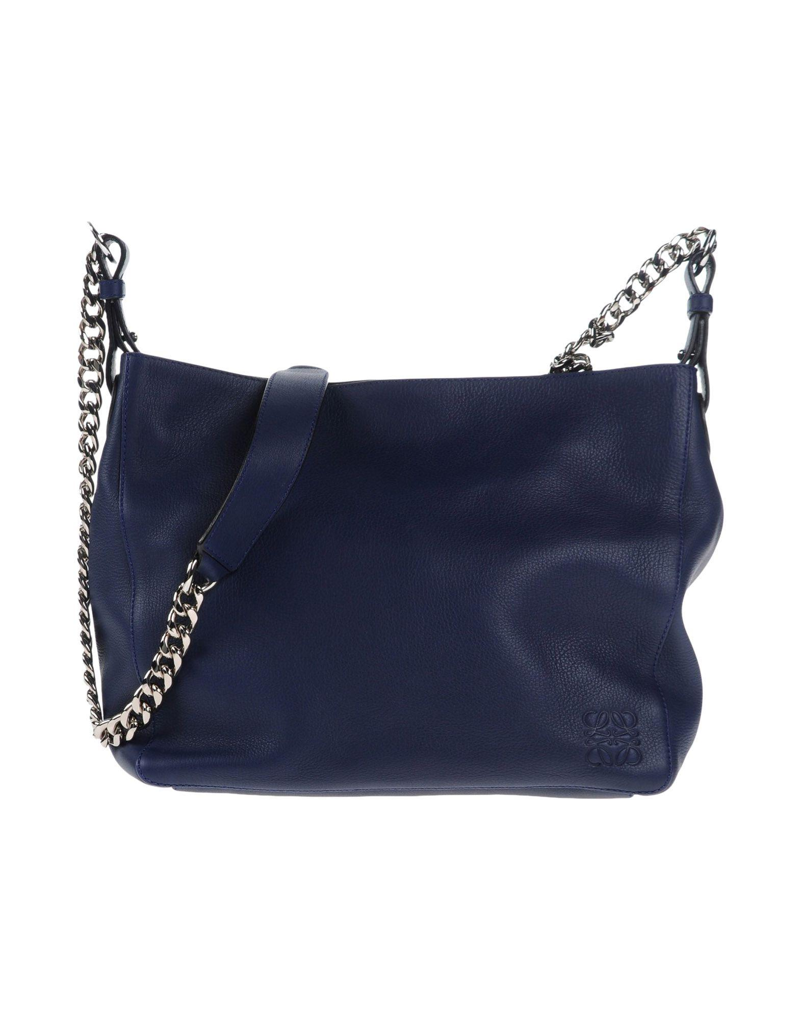 6db5a5293451 Lyst - Loewe Cross-body Bag in Blue