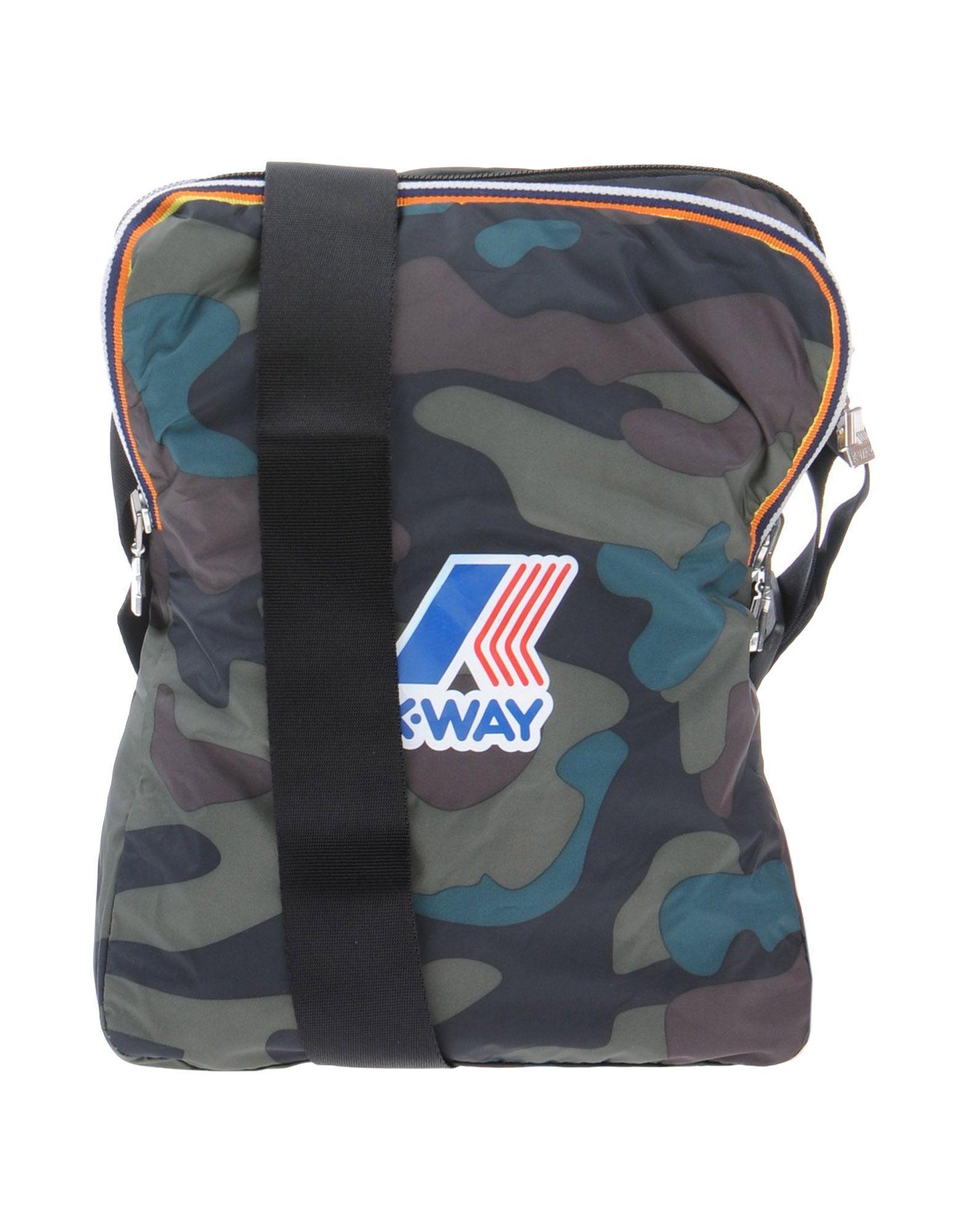 Lyst K Way Cross Body Bag In Green