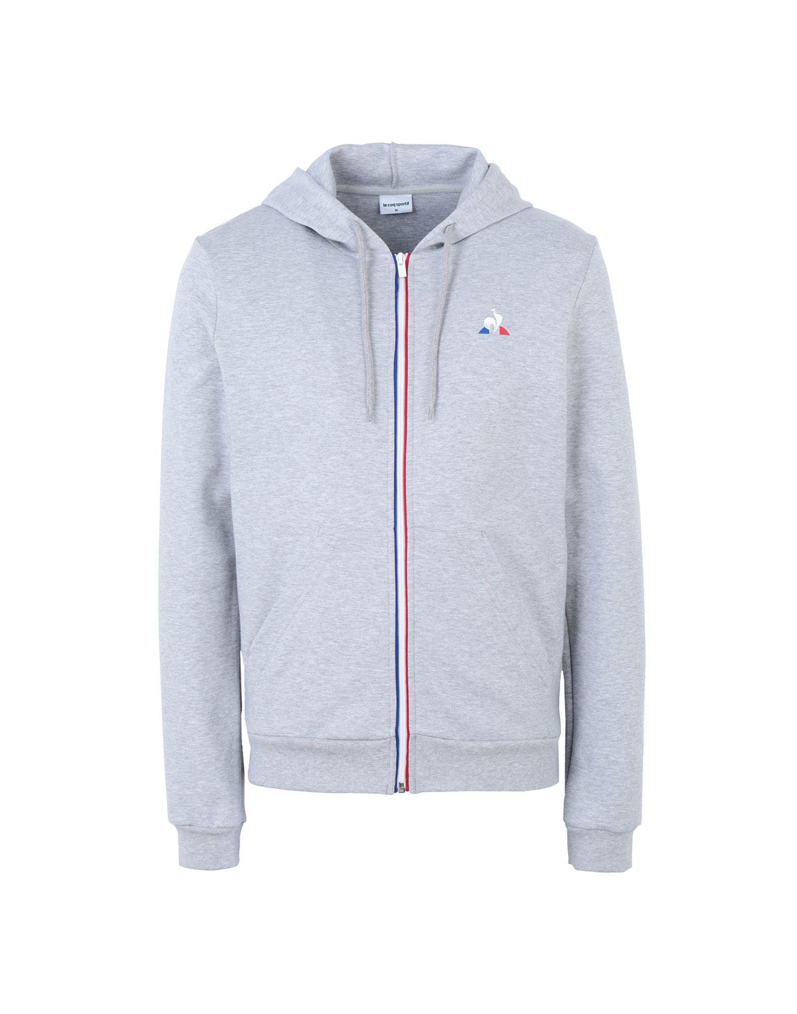 35e2be2979f1 Le Coq Sportif - Gray Sweatshirt for Men - Lyst. View fullscreen
