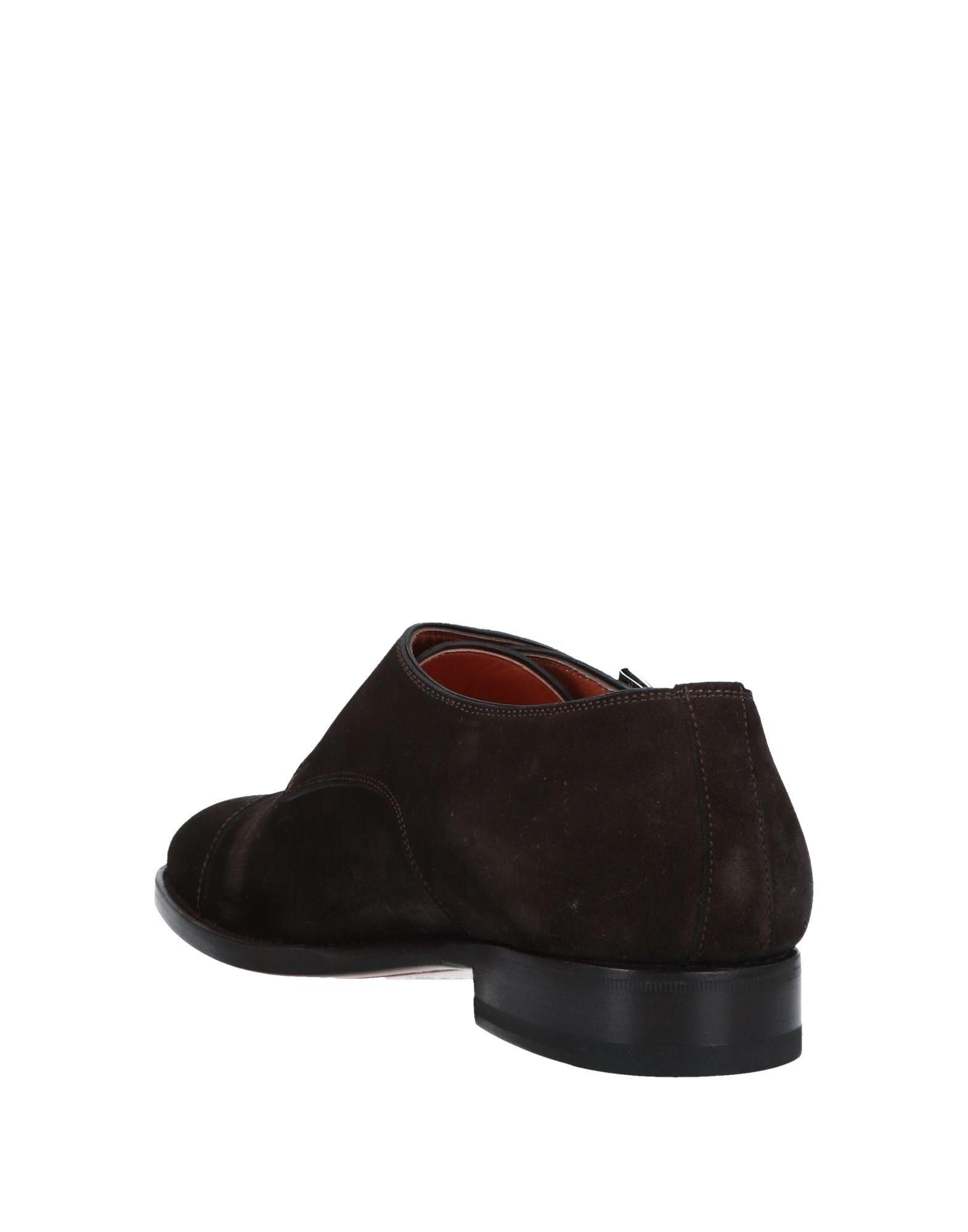 2cd75bab50f Lyst - Santoni Loafer in Brown for Men