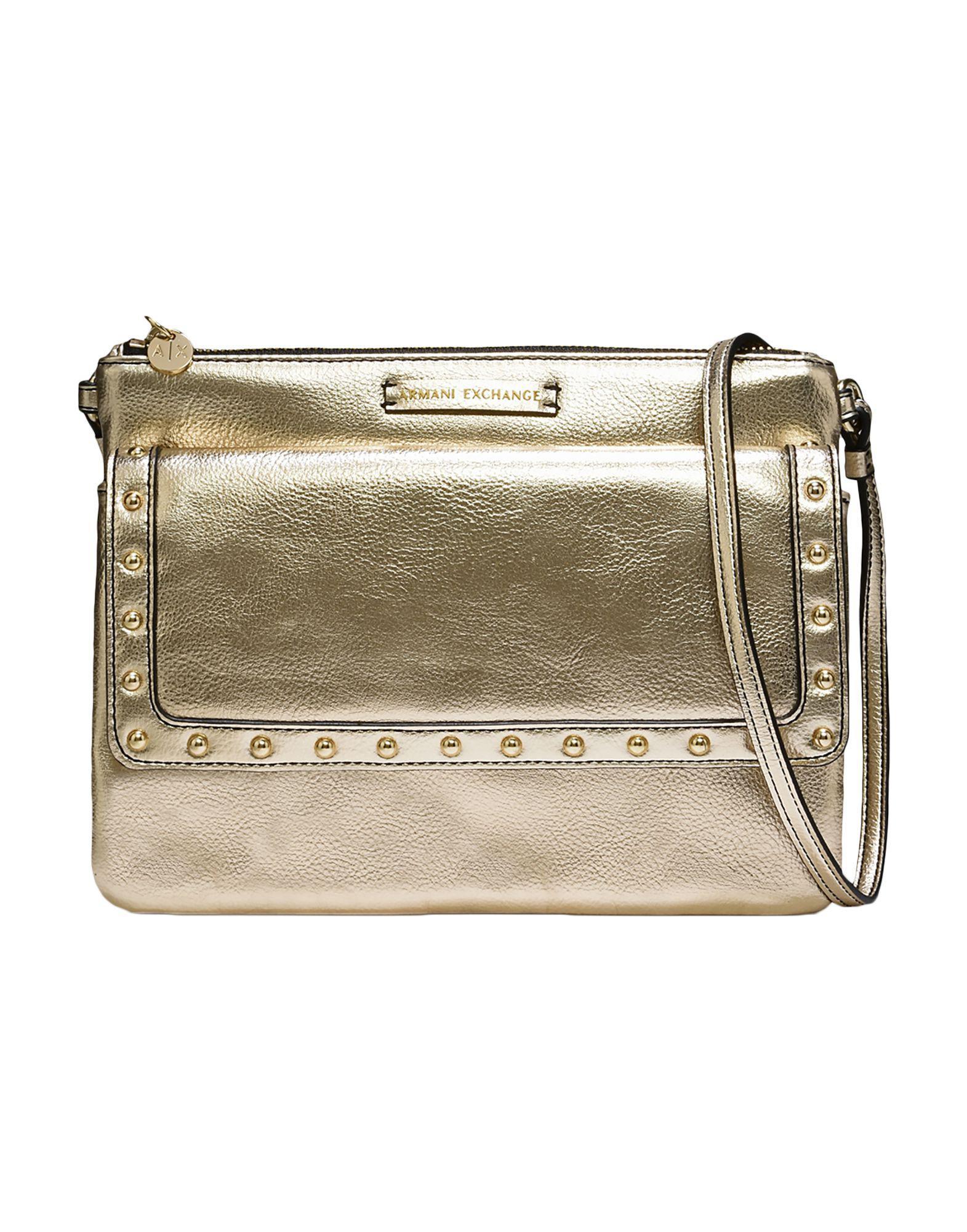 Armani Exchange Cross-body Bags in Metallic - Lyst ba8d757399