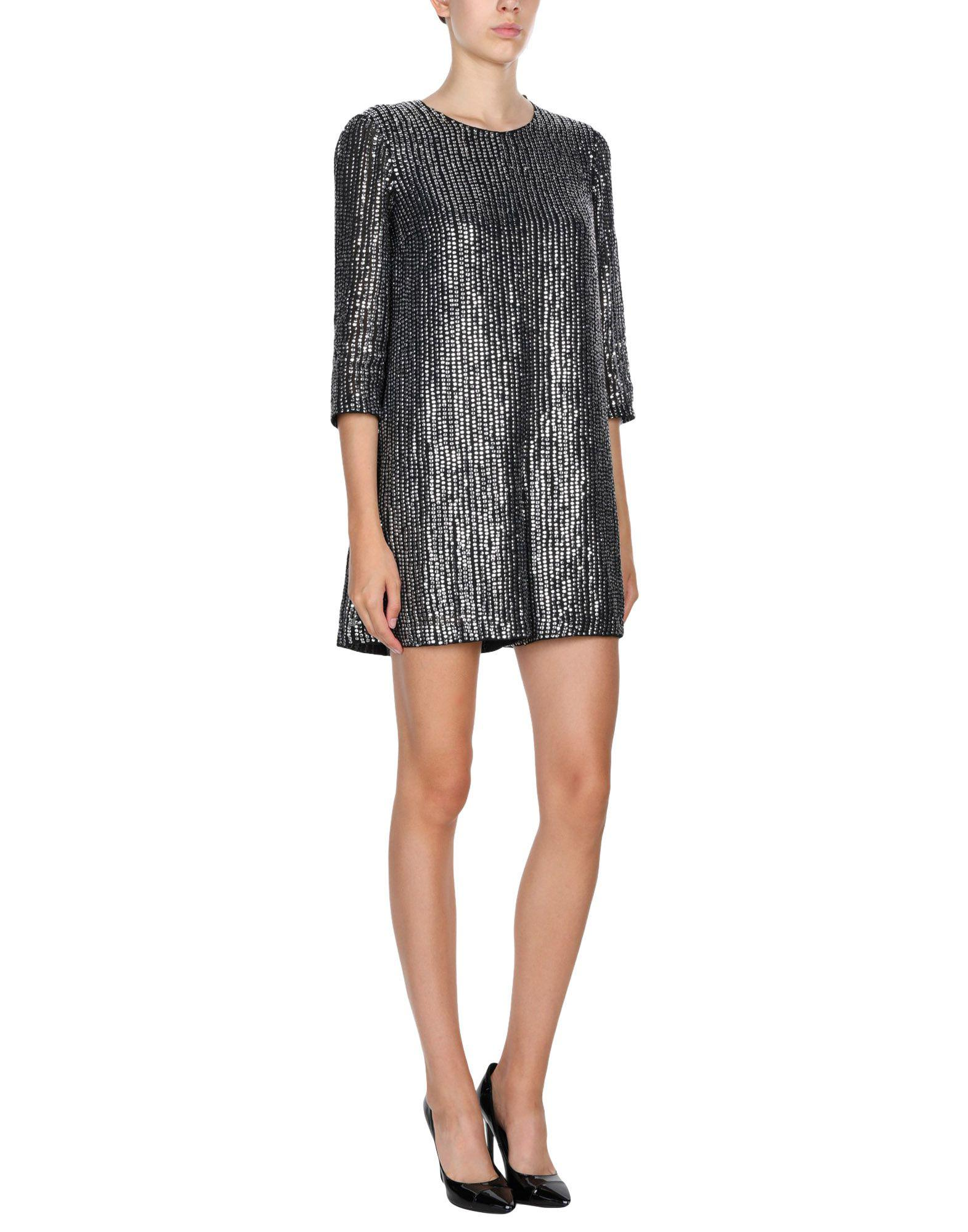 3ac28f4668b French Connection Desiree Disco Embellished Playsuit in Black - Save ...