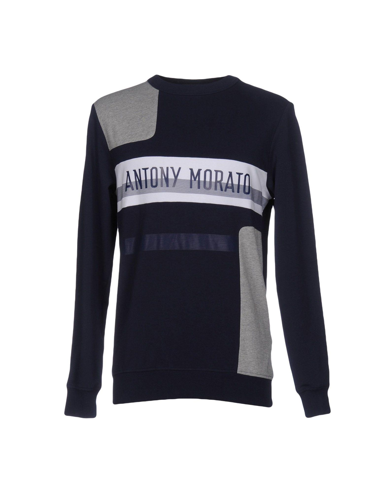 Antony Morato | Blue Sweatshirt for Men | Lyst. View Fullscreen
